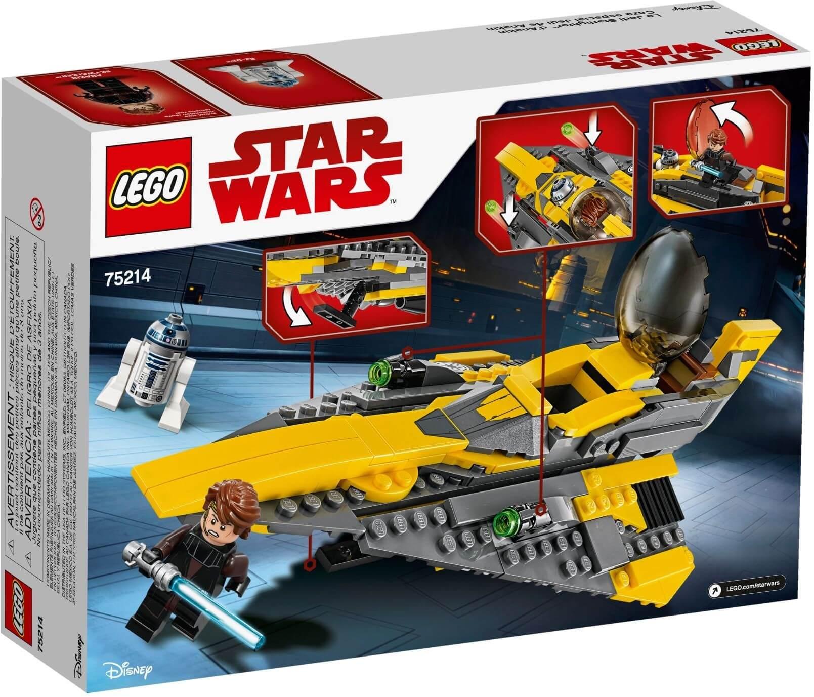 Mua đồ chơi LEGO 75214 - LEGO Star Wars 75214 - Phi Thuyền Jedi của Anakin (LEGO 75214 Anakin's Jedi Starfighter)