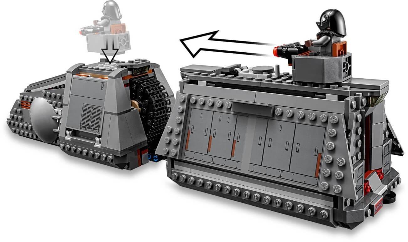 Mua đồ chơi LEGO 75217 - LEGO Star Wars 75217 - Đội Xe Bọc Thép của quân Đế Chế (LEGO 75217 Imperial Conveyex Transport)
