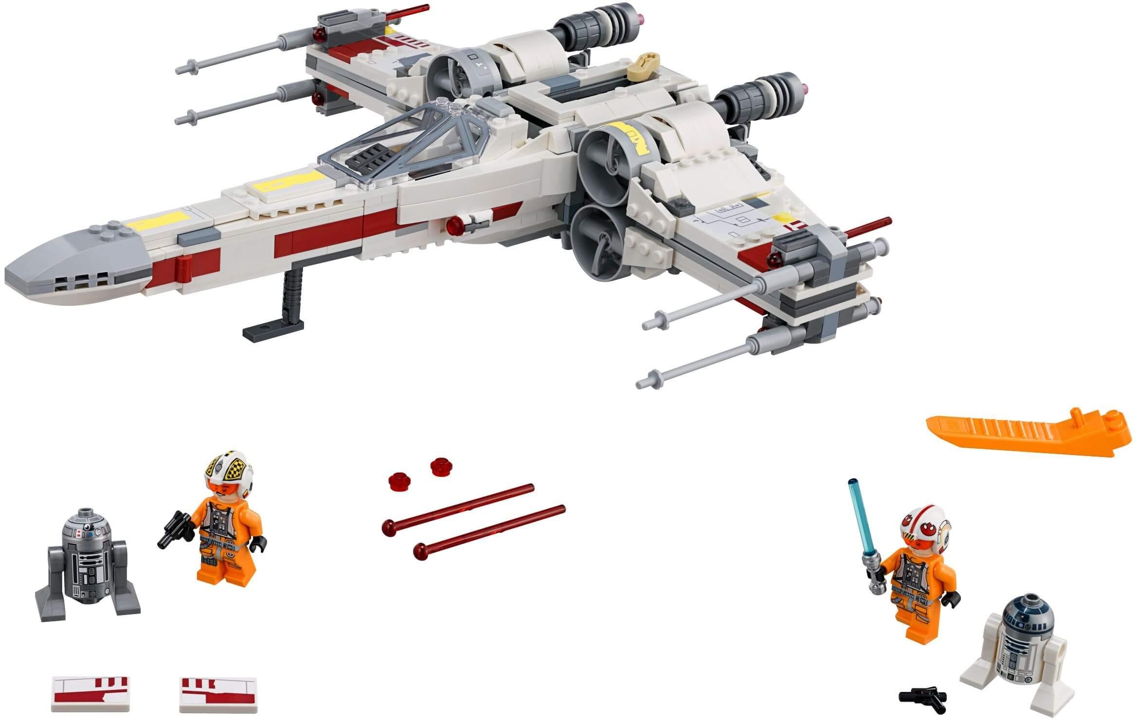 Mua đồ chơi LEGO 75218 - LEGO Star Wars 75218 - Máy Bay Chiến Đấu X-Wing Starfighter (LEGO 75218 X-Wing Starfighter)