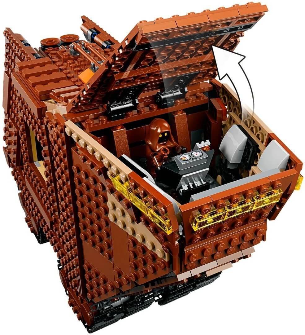 Mua đồ chơi LEGO 75220 - LEGO Star Wars 75220 - Cỗ Xe Sa Mạc Sandcrawler (LEGO 75220 Sandcrawler)