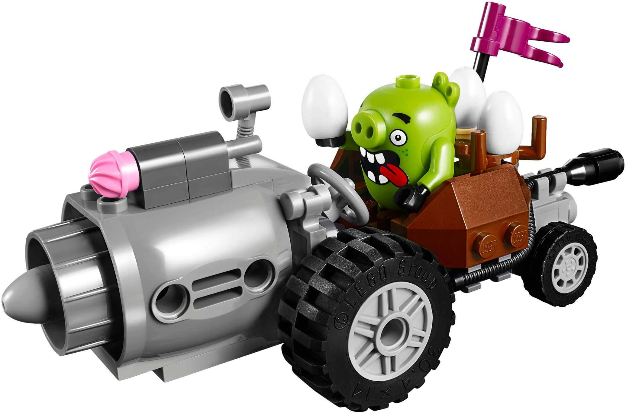 Mua đồ chơi LEGO 75821 - LEGO Angry Birds 75821 - Xe Lợn Siêu Tốc (LEGO Angry Birds Piggy Car Escape 75821)