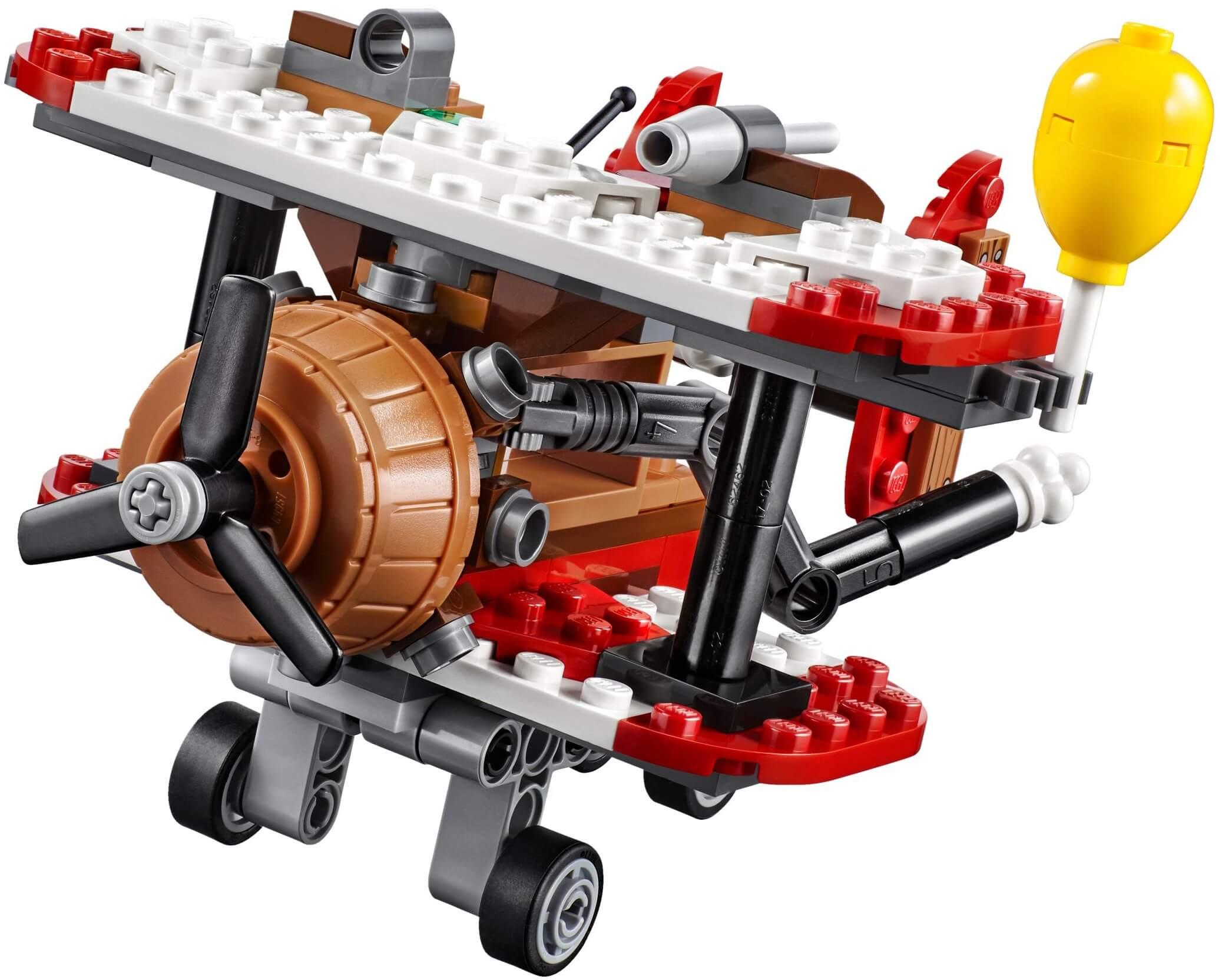 Mua đồ chơi LEGO 75822 - LEGO Angry Birds 75822 - Máy Bay Lợn Tấn Công (LEGO Angry Birds Piggy Plane Attack 75822)