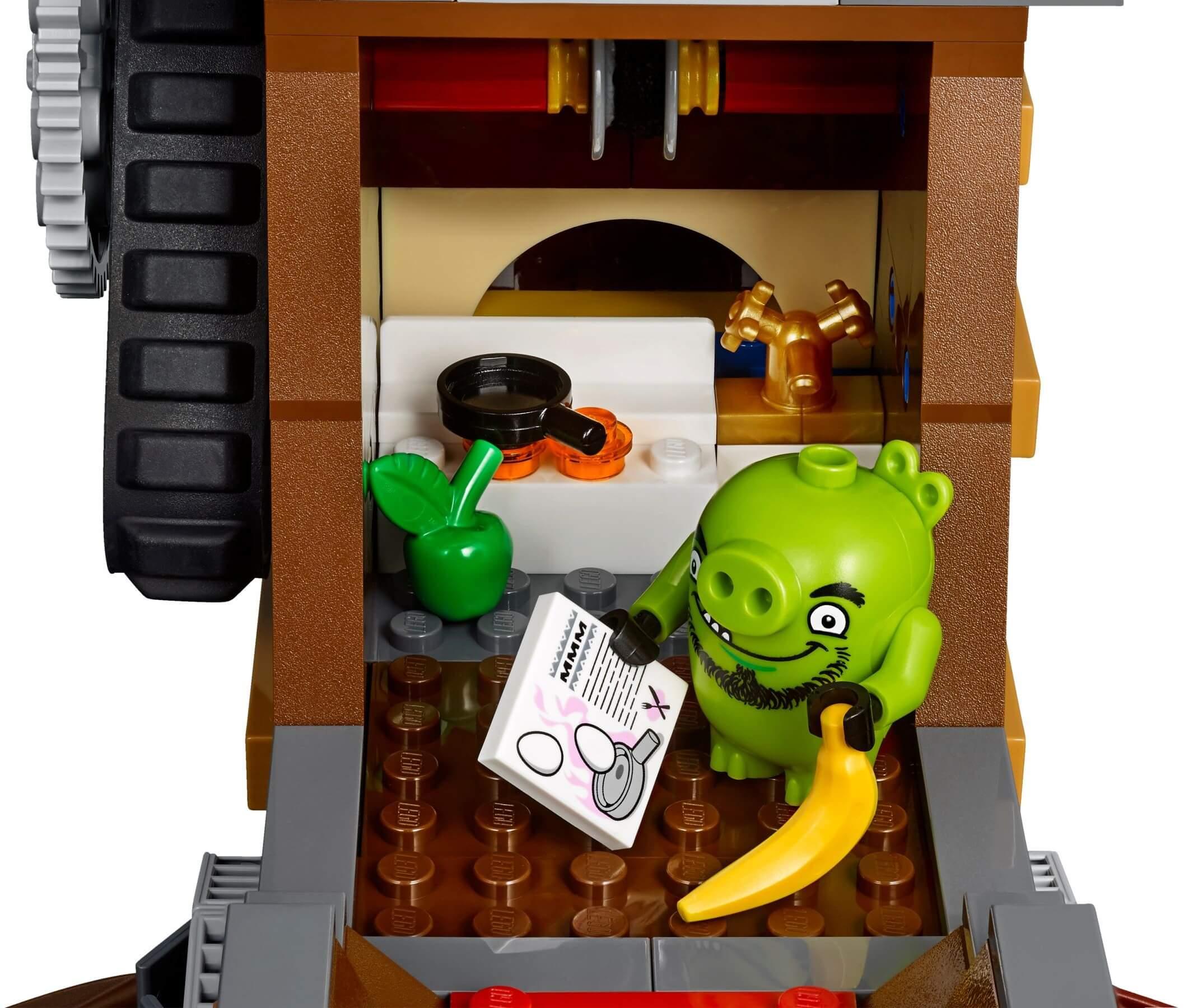 Mua đồ chơi LEGO 75825 - LEGO Angry Birds 75825 - Tàu Cướp Biển của Vua Lợn (LEGO Angry Birds Piggy Pirate Ship 75825)
