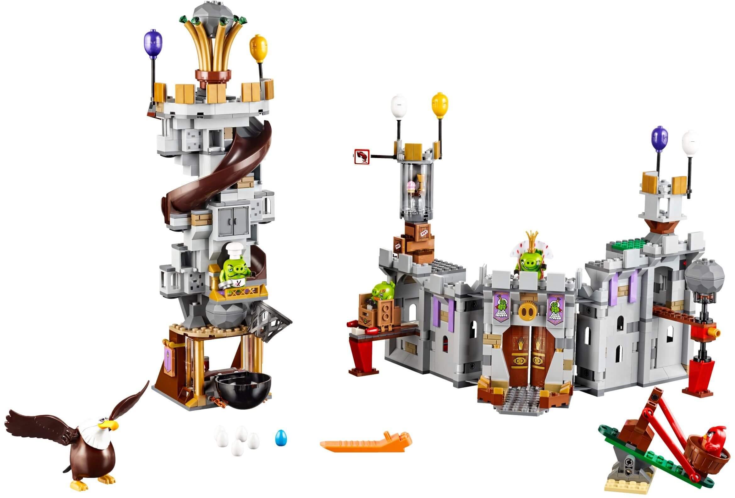 Mua đồ chơi LEGO 75826 - LEGO Angry Birds 75826 - Tấn Công Lâu Đài của Vua Lợn (LEGO Angry Birds King Pig's Castle 75826)