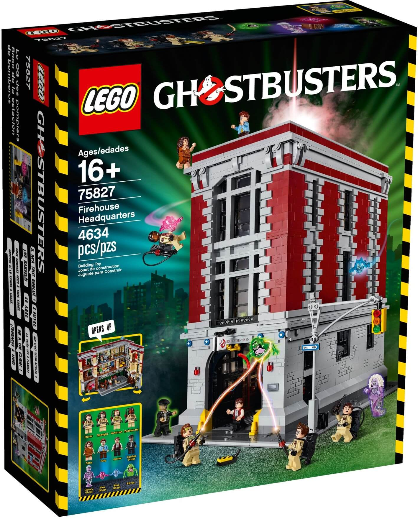 Mua đồ chơi LEGO 75827 - LEGO The Ghostbusters 75827 - Trạm Cứu Hỏa của biệt đội Ghostbusters (LEGO Ghostbusters Exclusives Firehouse Headquarters 75827)