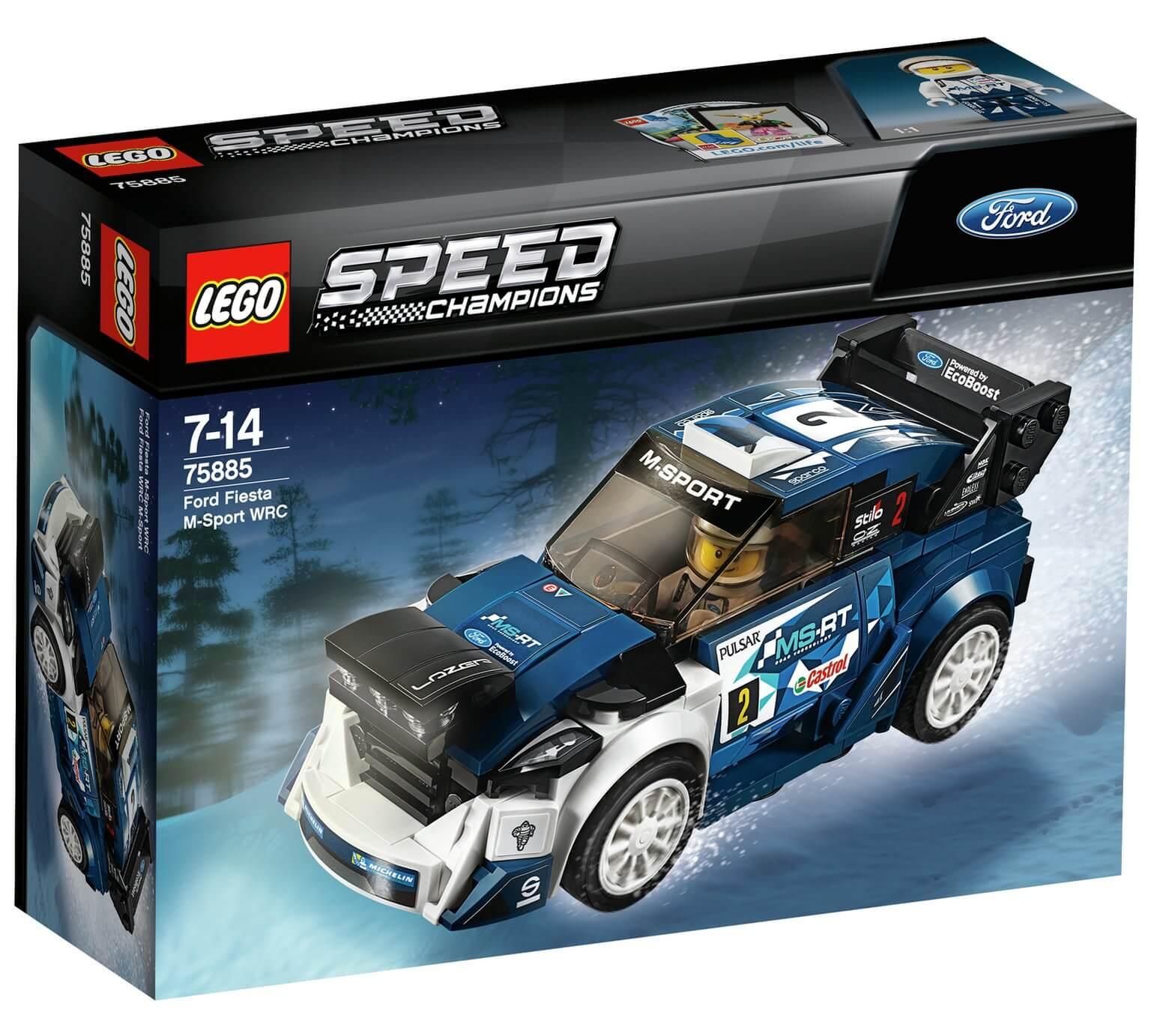 Mua đồ chơi LEGO 75885 - LEGO Speed Champion 75885 - Siêu Xe Ford Fiesta M-Sport WRC (LEGO Speed Champion 75885 Ford Fiesta M-Sport WRC)