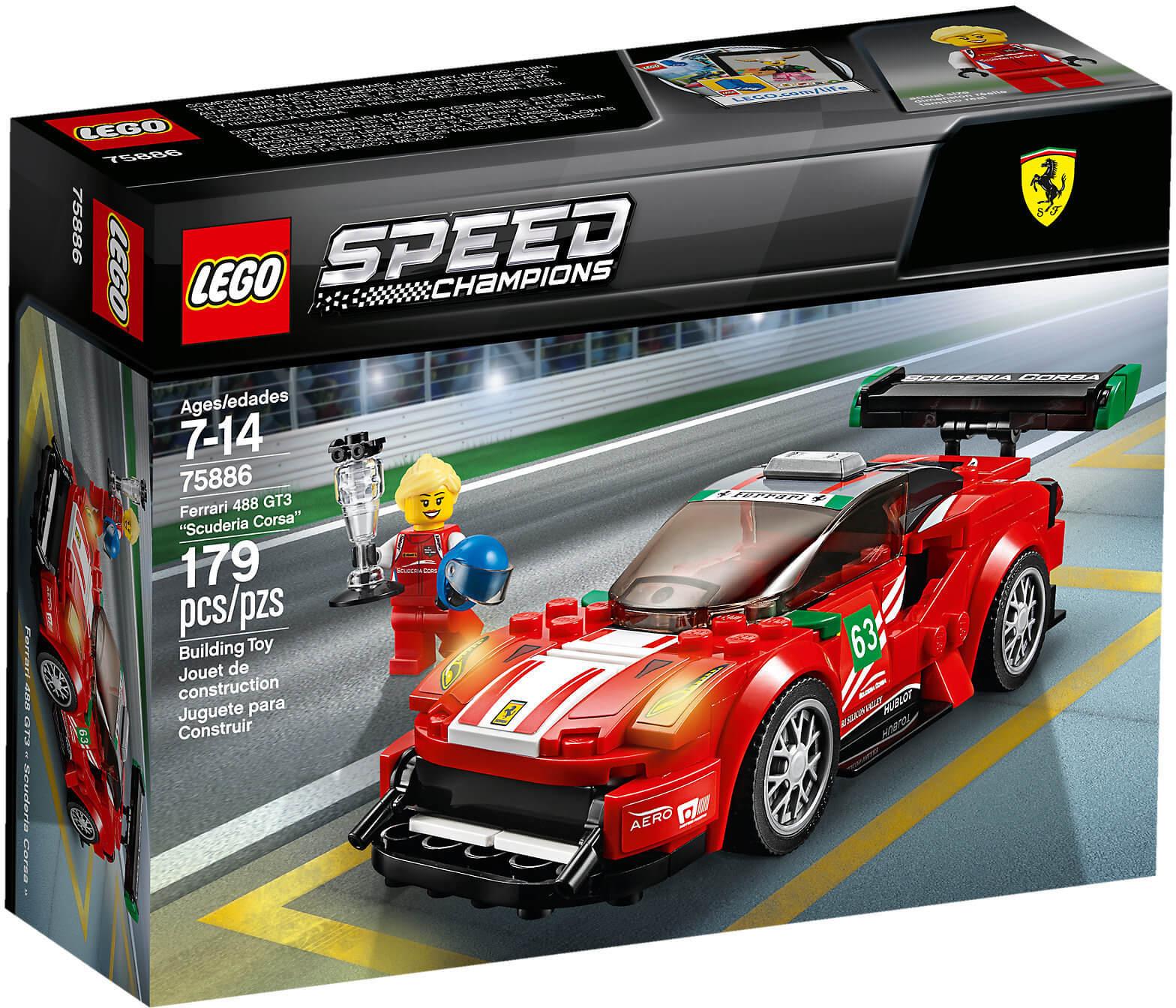 """Mua đồ chơi LEGO 75886 - LEGO Speed Champion 75886 - Siêu Xe Ferrari 488 GT3 """"Scuderia Corsa"""" (LEGO Speed Champion 75886 Ferrari 488 GT3 """"Scuderia Corsa"""")"""