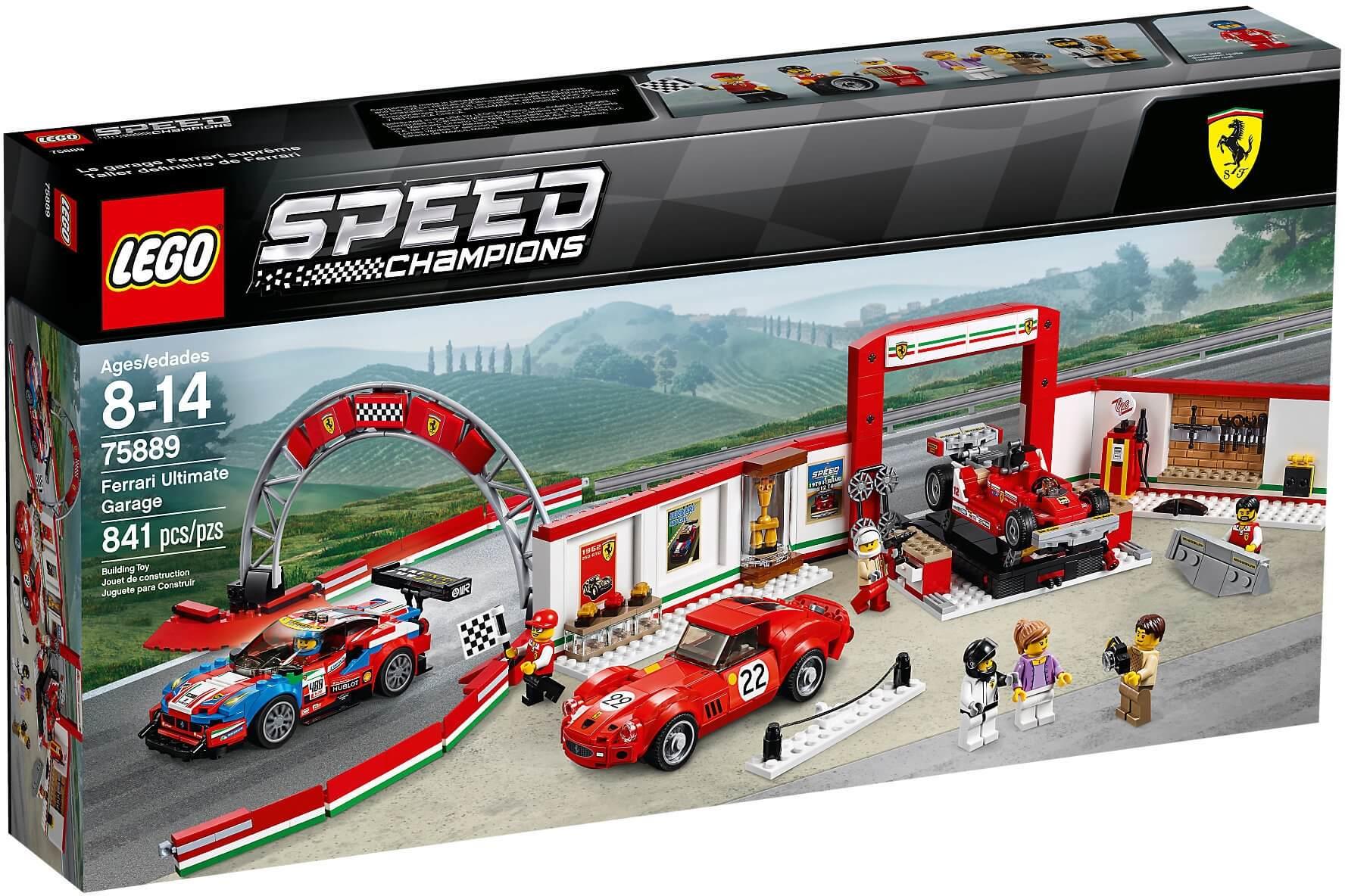 Mua đồ chơi LEGO 75889 - LEGO Speed Champion 75889 - Đội Xe Đua Ferrari (LEGO Speed Champion 75889 Ferrari Ultimate Garage)