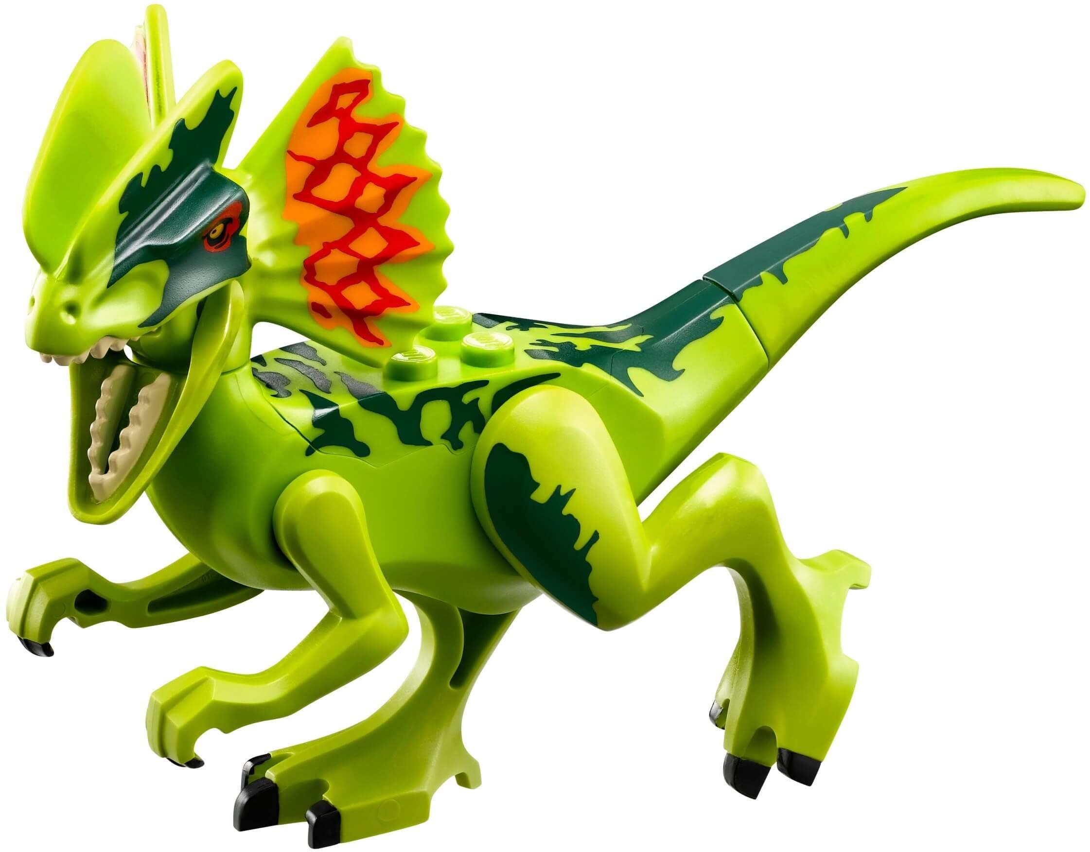 Mua đồ chơi LEGO 75916 - LEGO Jurassic World 75916 - Biệt đội mai phục Khủng Long 2 Mào Dilophosaurus (LEGO Jurassic World Dilophosaurus Ambush 75916)