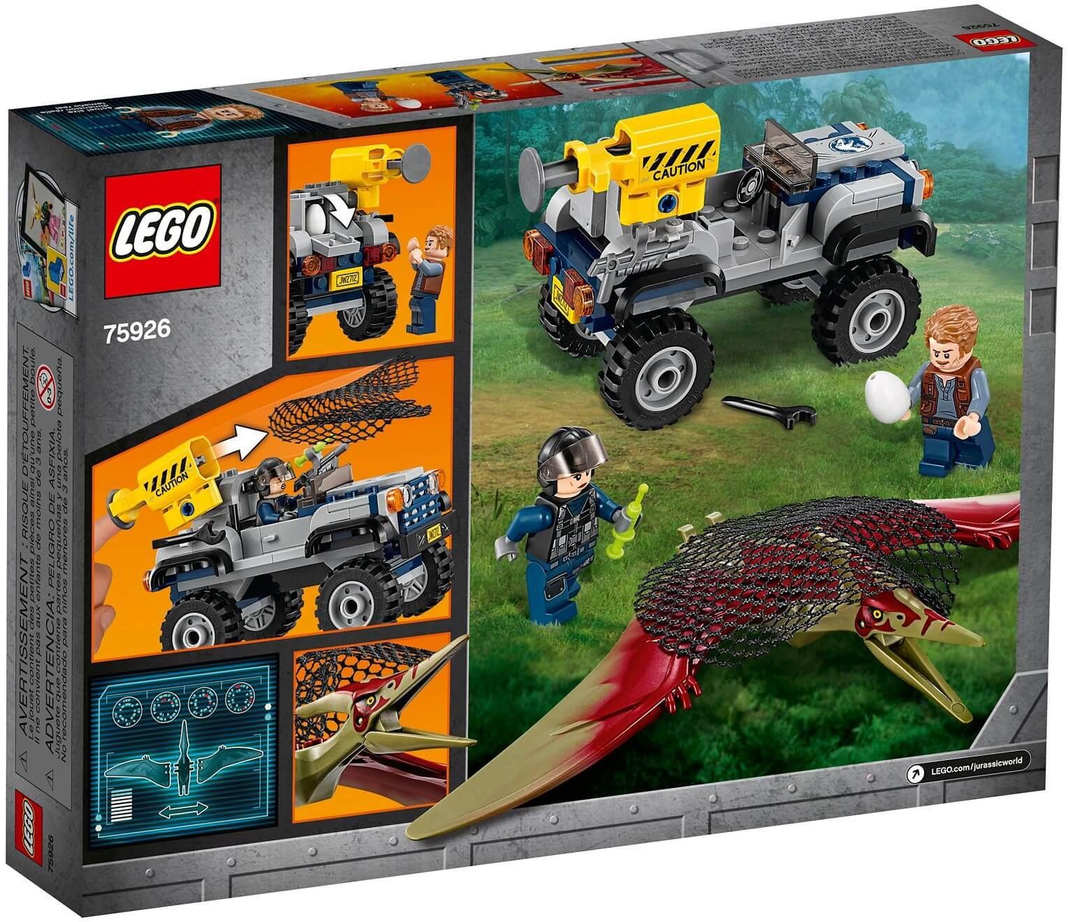 Mua đồ chơi LEGO 75926 - LEGO Khủng Long Jurassic World 75926 - Biệt đội truy bắt Khủng long bay Pteranodon (LEGO 75926 Pteranodon Chase)