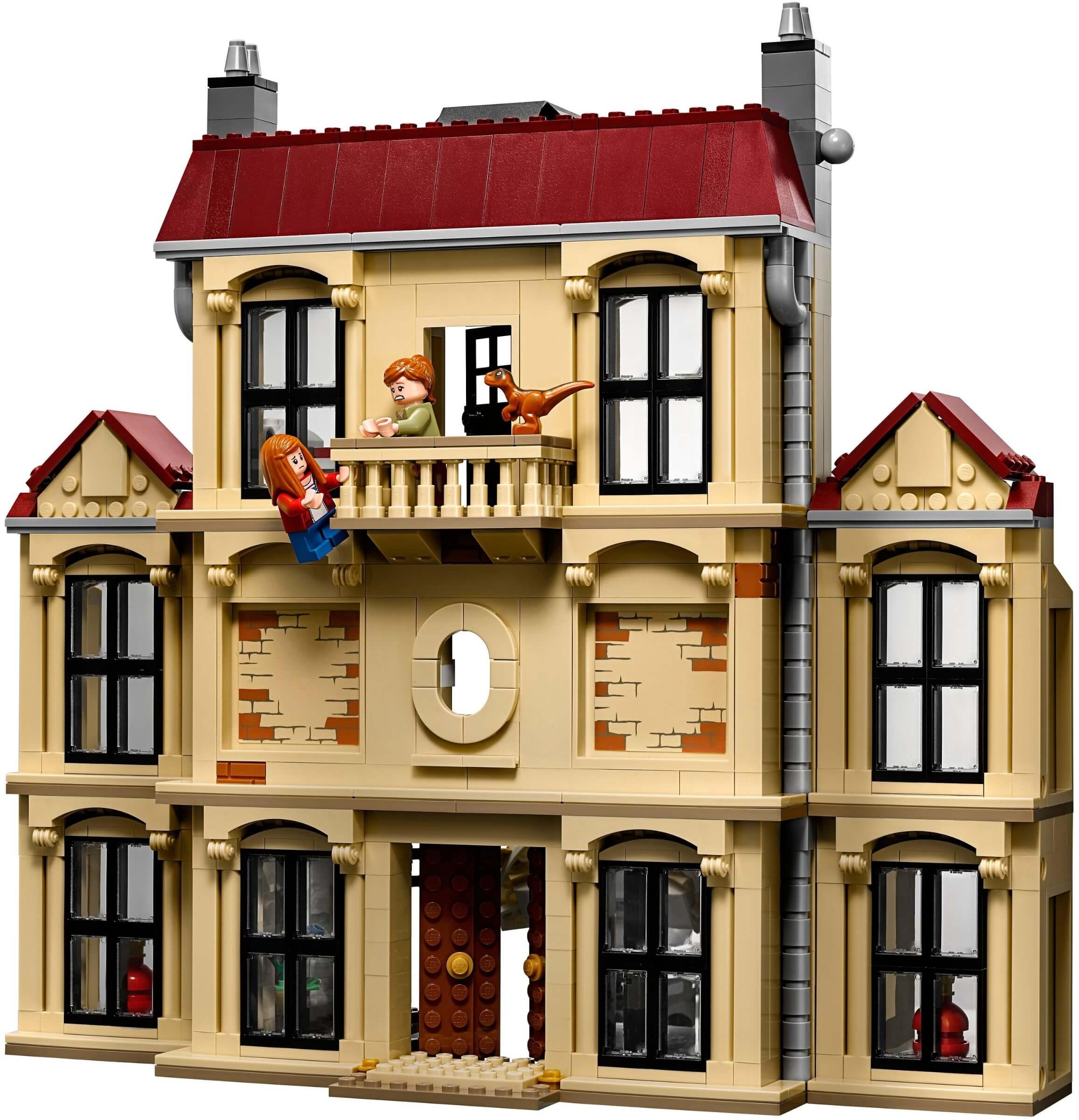 Mua đồ chơi LEGO 75930 - LEGO Khủng Long Jurassic World 75930 - Khủng Long Đen Indoraptor tấn công Biệt Thự Lockwood (LEGO 75930 Indoraptor Rampage at Lockwood Estate)