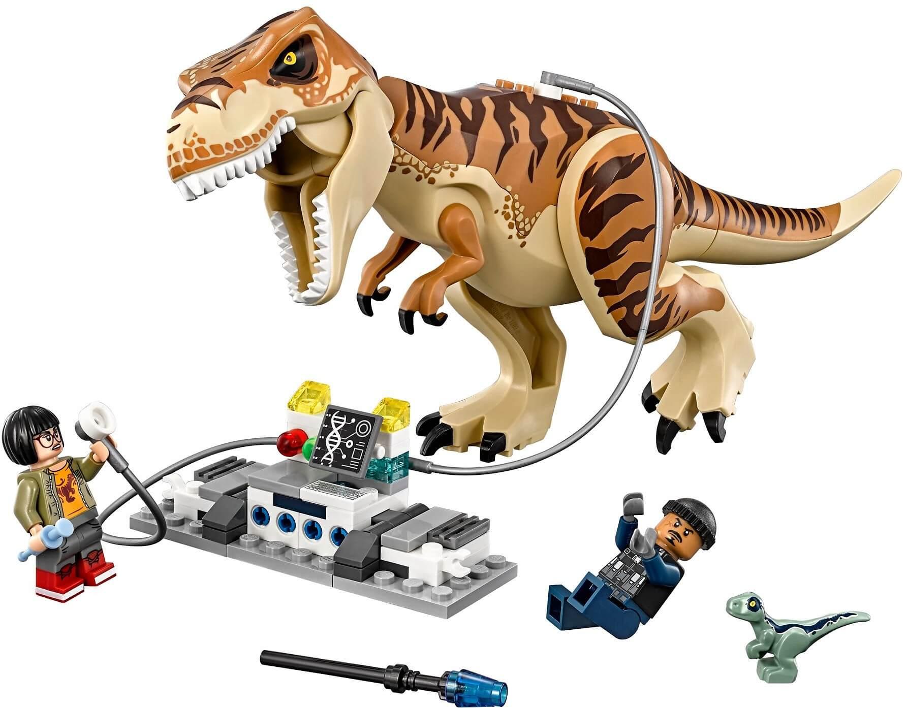 Mua đồ chơi LEGO 75933 - LEGO Khủng Long Jurassic World 75933 - Xe Truy Bắt Khủng Long Bạo Chúa T. rex (LEGO 75933 T. rex Transport)