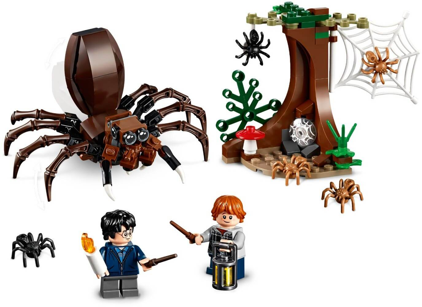 Mua đồ chơi LEGO 75950 - LEGO Harry Potter 75950 - Harry và Ron xông vào hang ổ Aragog (LEGO Harry Potter 75950 Aragog's Lair)