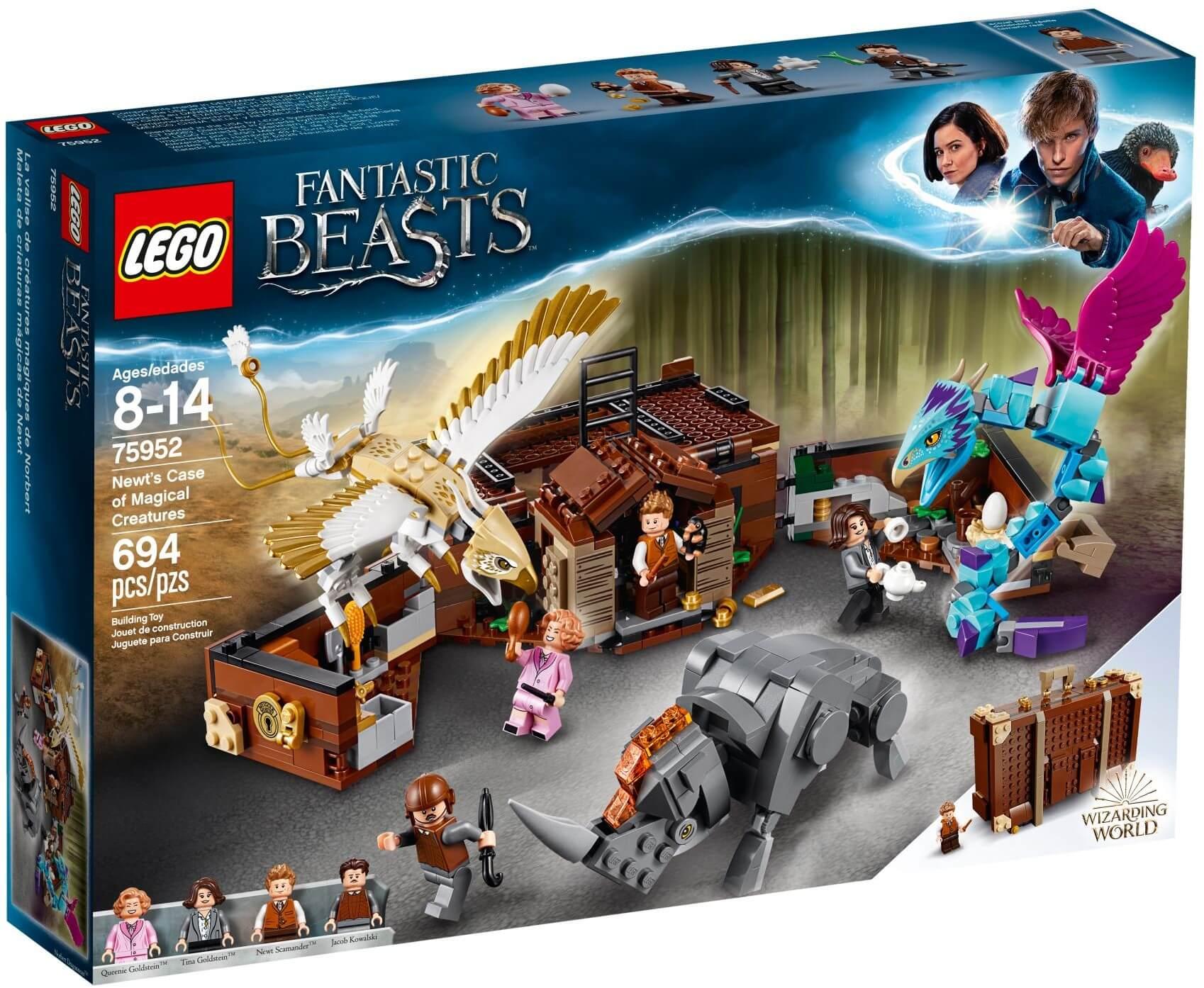 Mua đồ chơi LEGO 75952 - LEGO Harry Potter 75952 - Những Sinh Vật Huyền Thoại của Newt (LEGO 75952 Newt´s Case of Magical Creatures)
