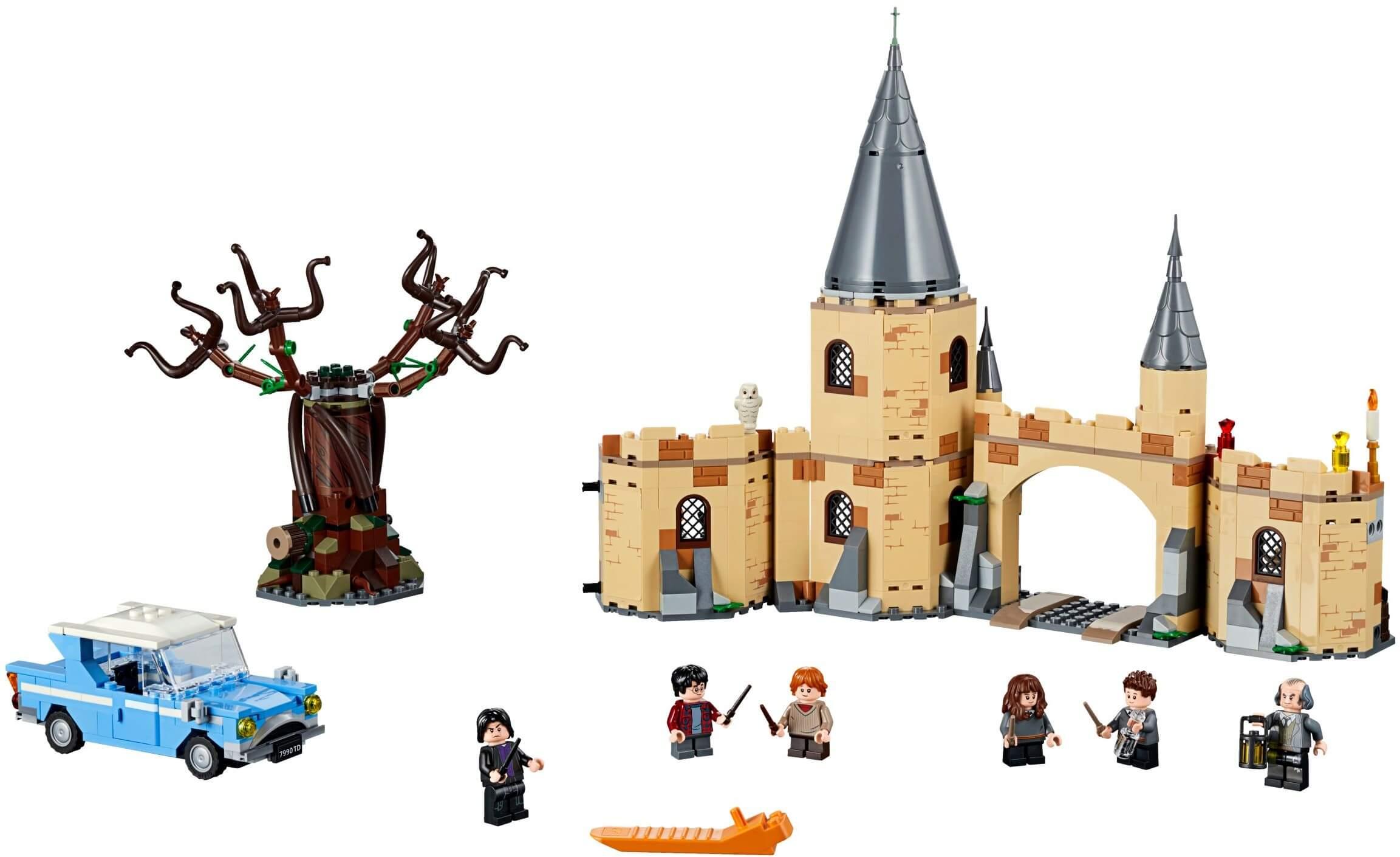 Mua đồ chơi LEGO 75953 - LEGO Harry Potter 75953 - Harry và Ron đại chiến cây Liễu Roi (LEGO Harry Potter 75953 Hogwarts Whomping Willow)