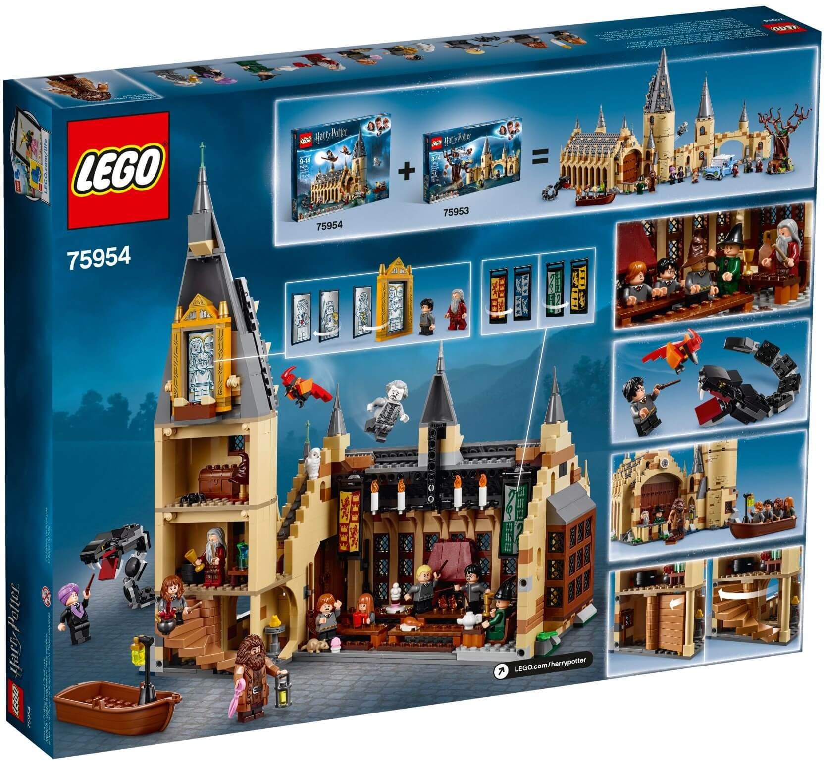 Mua đồ chơi LEGO 75954 - LEGO Harry Potter 75954 - Năm nhất của Harry tại Học Viện Hogwarts (LEGO Harry Potter 75954 Hogwarts Great Hall)