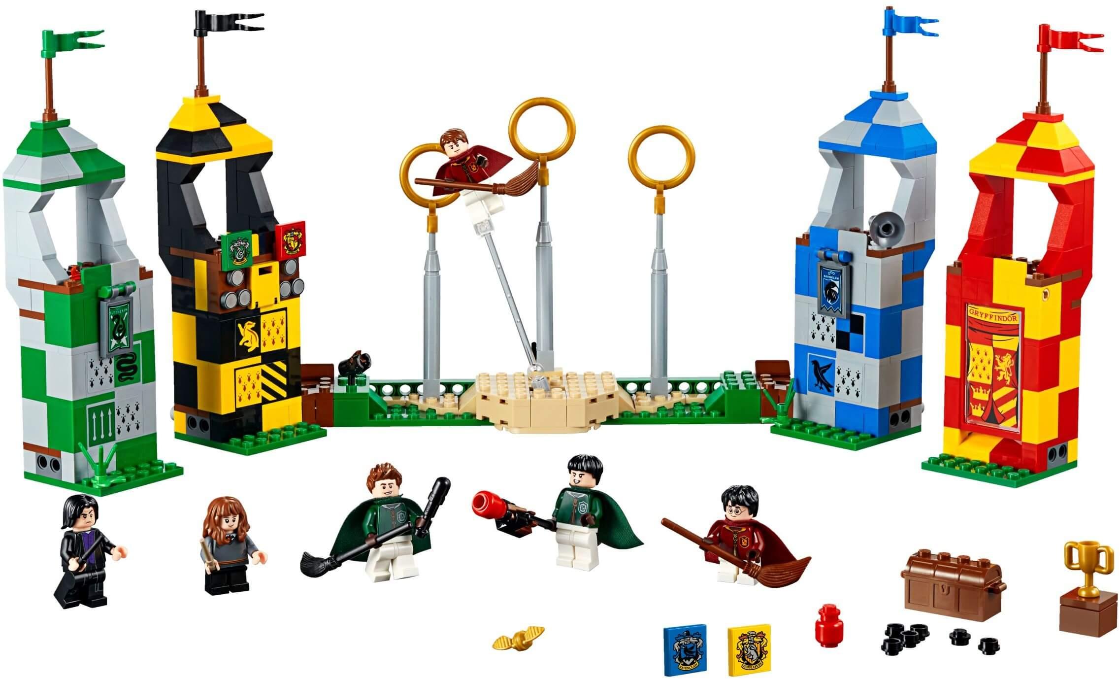 Mua đồ chơi LEGO 75956 - LEGO Harry Potter 75956 - Trận Chung Kết Quidditch (LEGO Harry Potter 75956 Quidditch Match)
