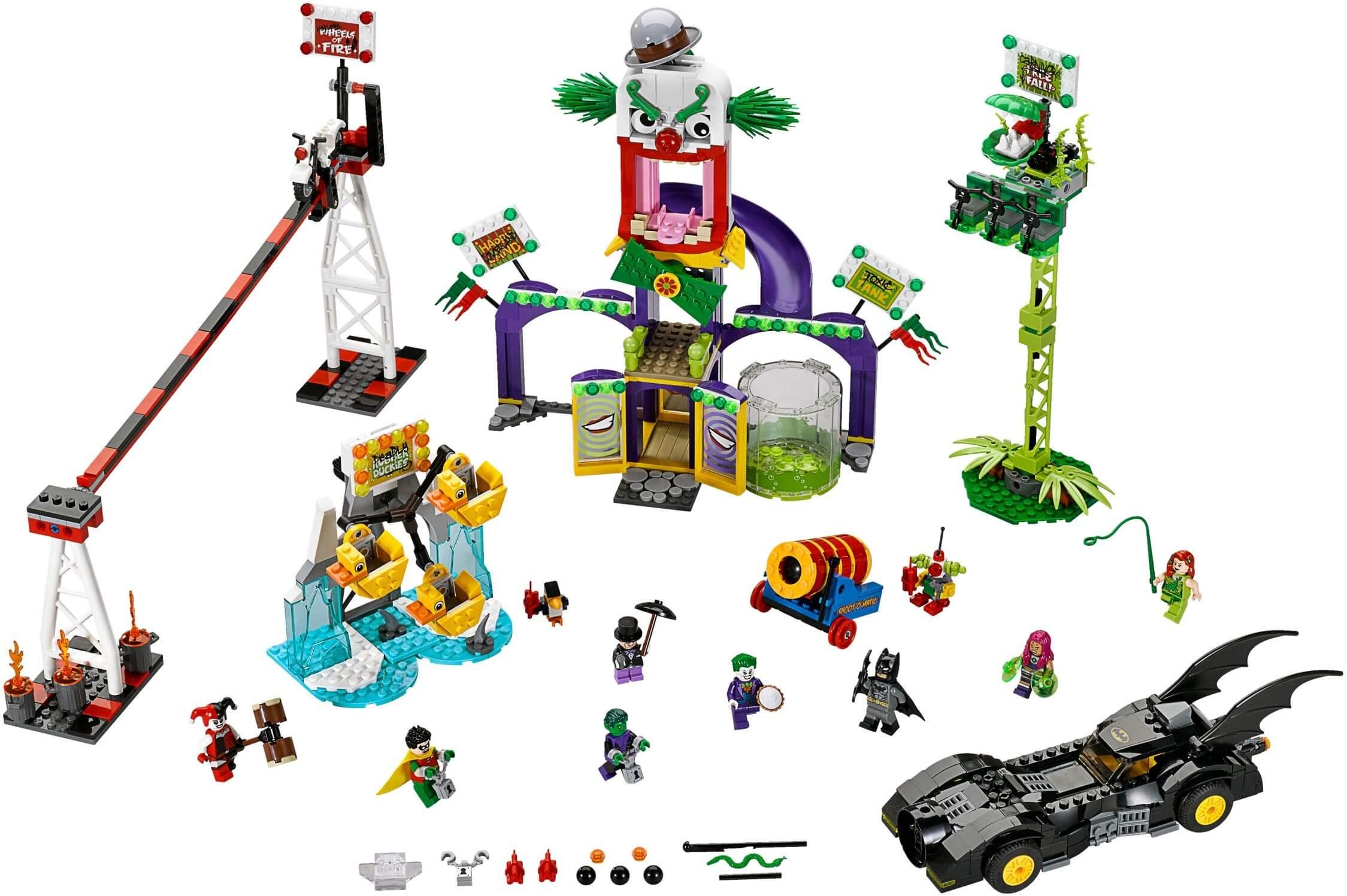 Mua đồ chơi LEGO 76035 - LEGO DC Comics Super Heroes 76035 - Khu trò chơi kì quái Jokerland (LEGO DC Comics Super Heroes Jokerland 76035)