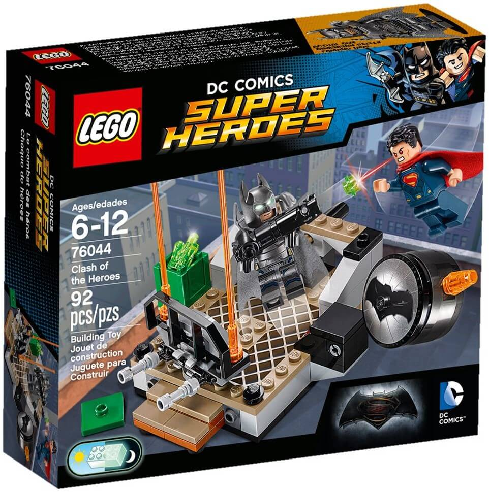 Mua đồ chơi LEGO 76044 - LEGO DC Comics Super Heroes 76044 - Đại chiến Batman vs. Superman (LEGO DC Comics Super Heroes Clash of the Heroes 76044)