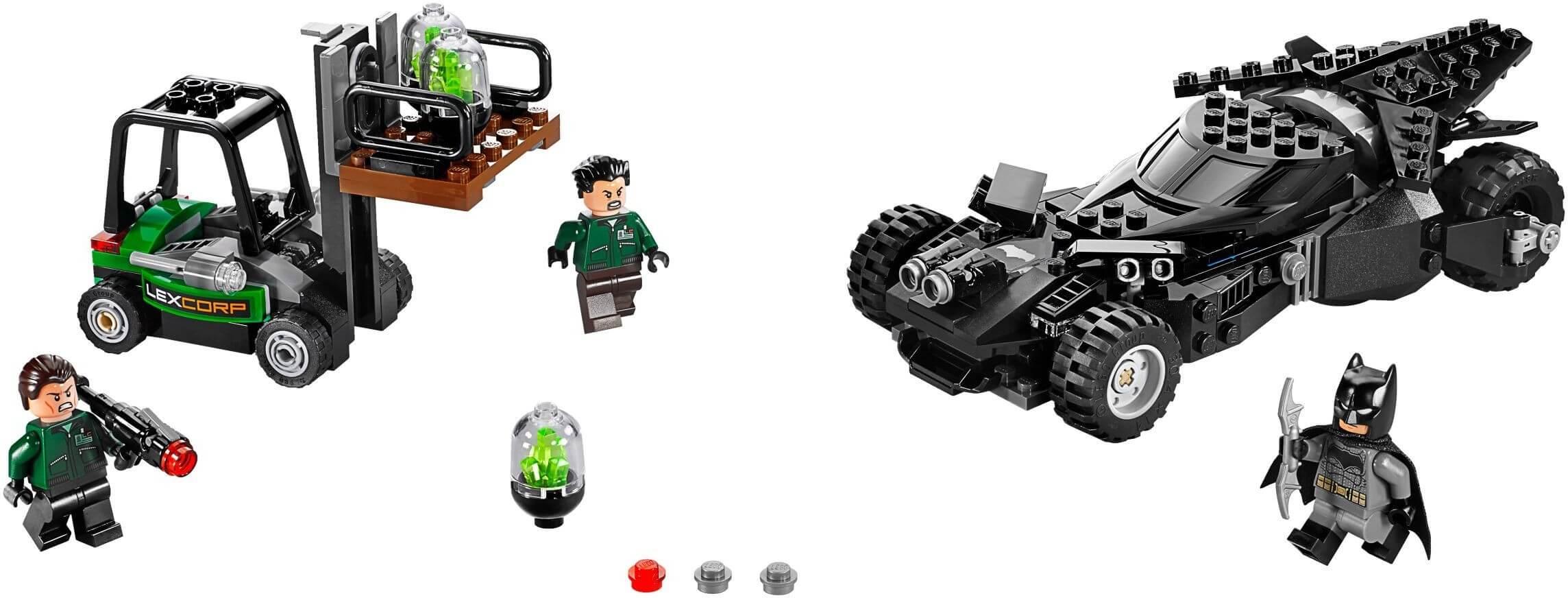 Mua đồ chơi LEGO 76045 - LEGO DC Comics Super Heroes 76045 - Siêu xe Batmobile giành lấy Kryptonite (LEGO DC Comics Super Heroes Kryptonite Interception 76045)