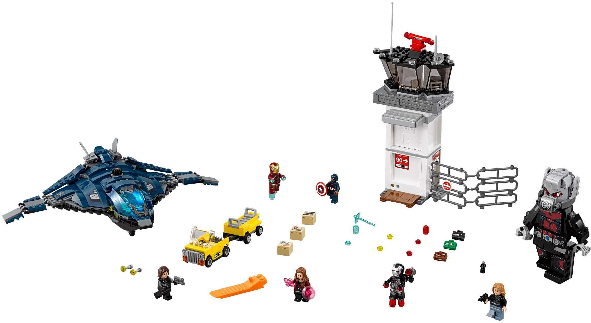 Mua đồ chơi LEGO 76051 - LEGO Marvel Super Heroes 76051 - Đại Chiến tại Sân Bay (LEGO Marvel Super Heroes Super Hero Airport Battle 76051)