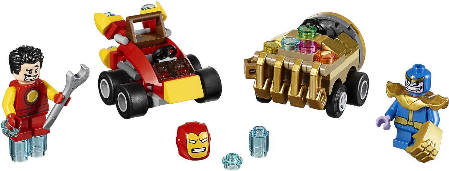 Mua đồ chơi LEGO 76072 - LEGO Super Heroes 76072 - Iron Man vs. Thanos (LEGO 76072 Mighty Micros: Iron Man vs. Thanos)