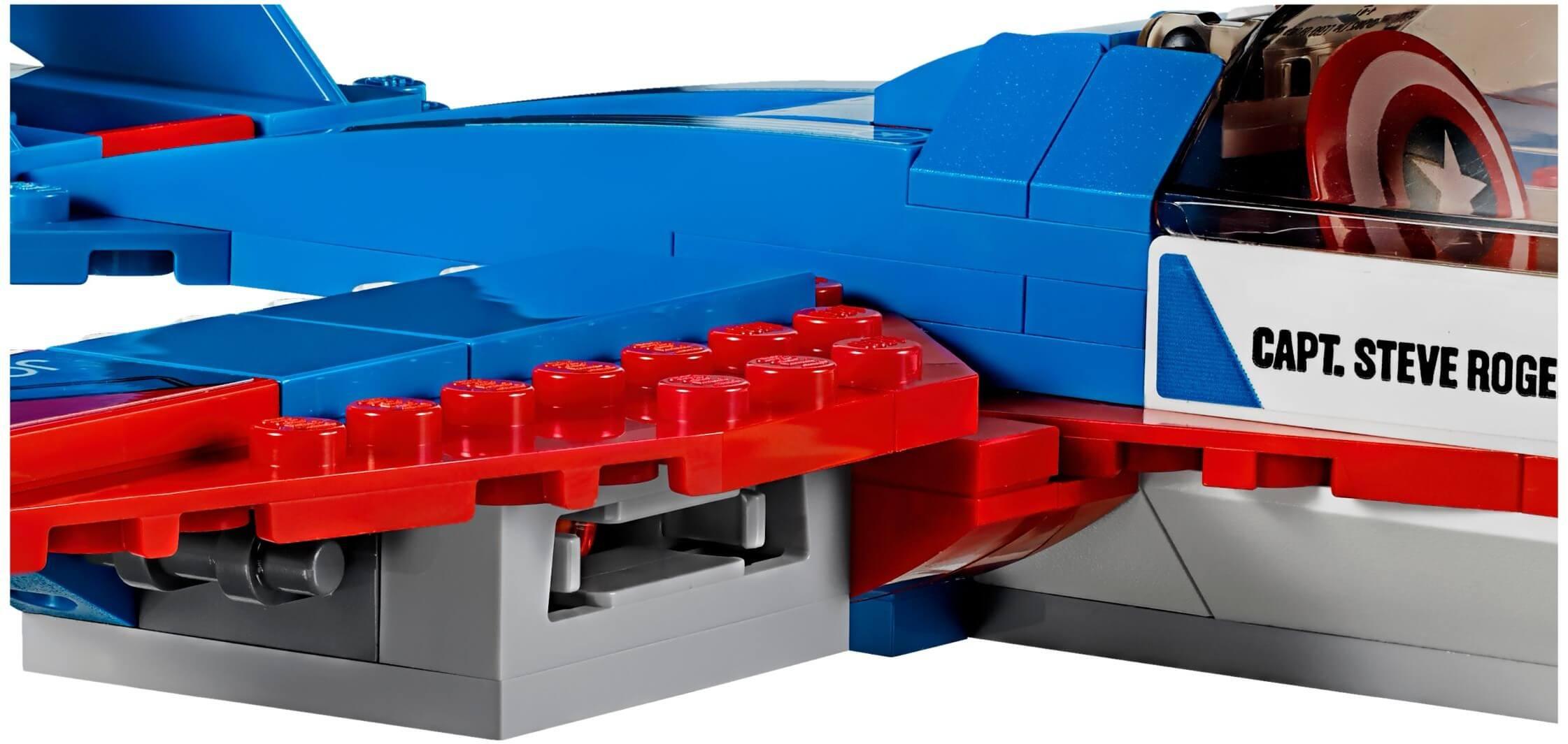 Mua đồ chơi LEGO 76076 - LEGO Marvel Super Heroes 76076 - Máy Bay Phản Lực của Captain America (LEGO 76076 Captain America Jet Pursuit)