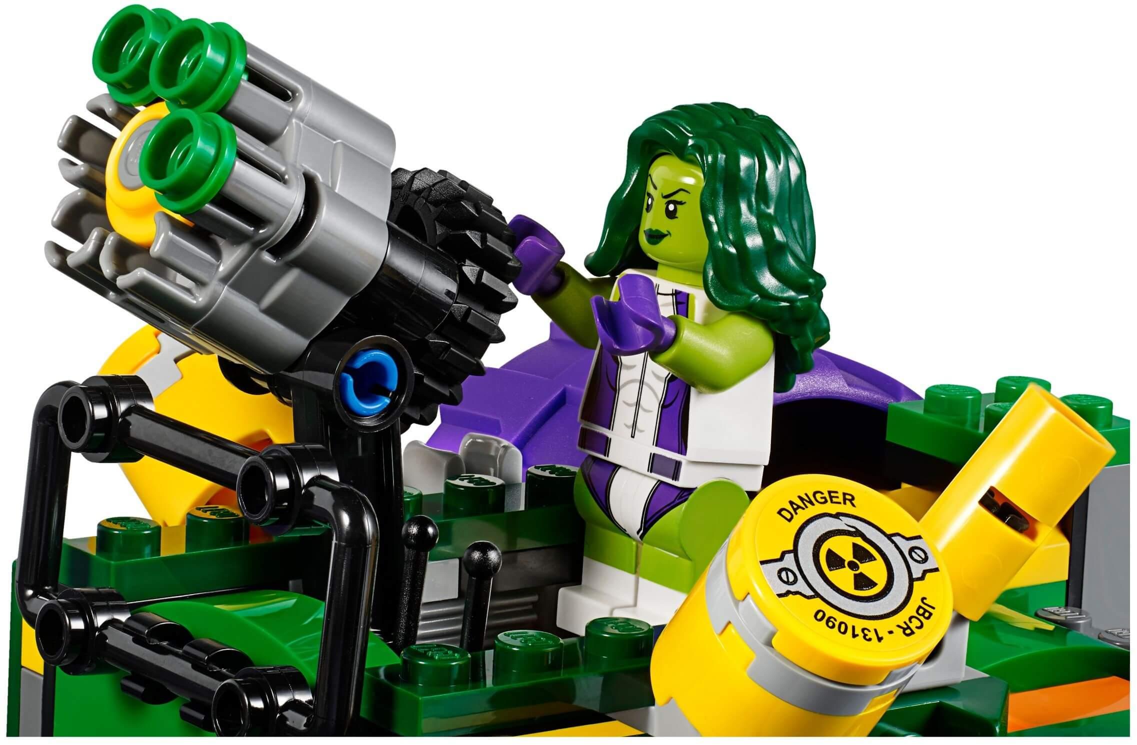Mua đồ chơi LEGO 76078 - LEGO 76078 - Hulk đại chiến Hulk Đỏ (LEGO Marvel Super Heroes Hulk Vs. Red Hulk)