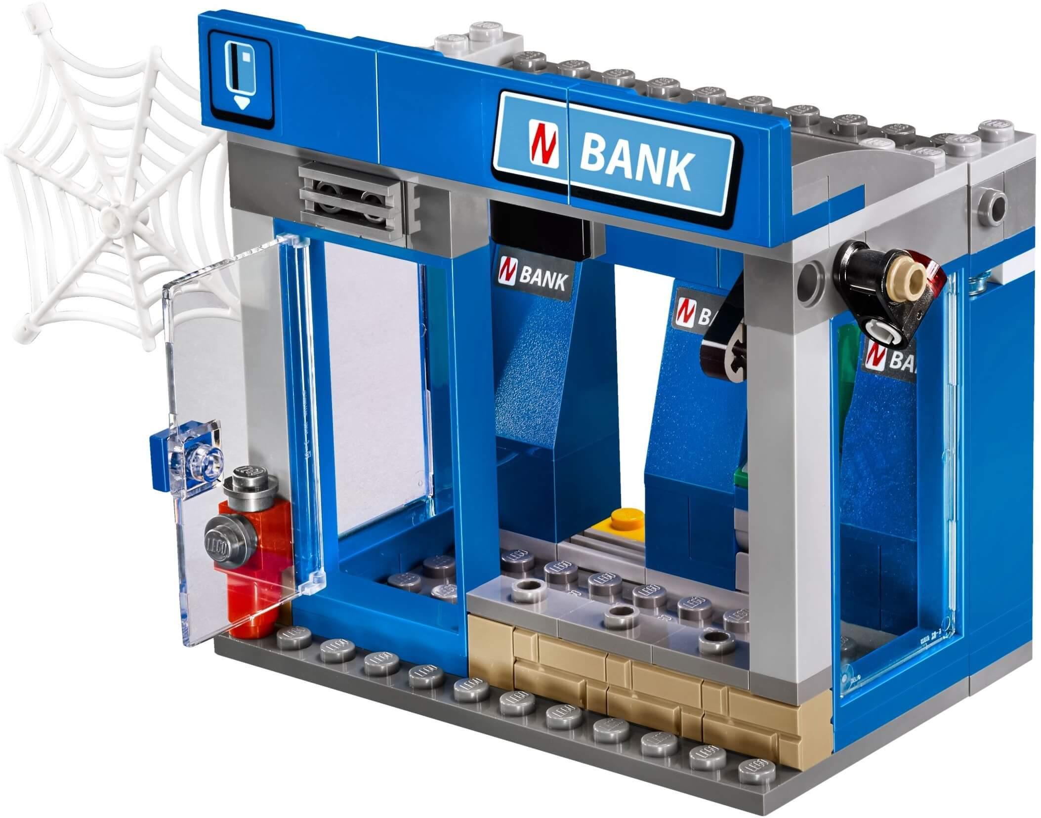 Mua đồ chơi LEGO 76082 - LEGO Super Heroes 76082 - Người Nhện Bảo Vệ Ngân Hàng (LEGO Super Heroes ATM Heist Battle)