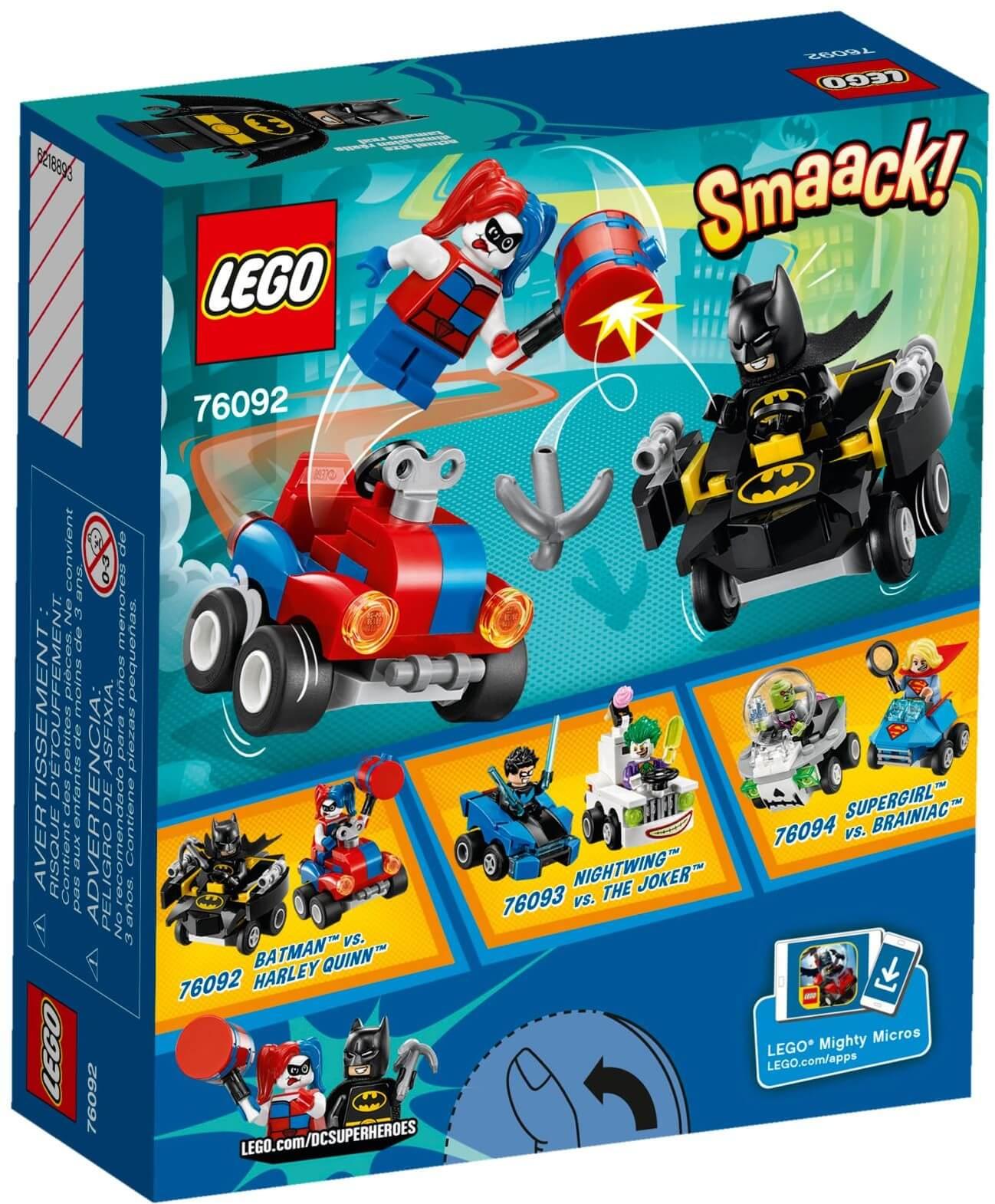 Mua đồ chơi LEGO 76092 - LEGO DC Comics Super Heroes 76092 - Batman vs. Harley Quinn (LEGO DC Comics Super Heroes 76092 Mighty Micros: Batman vs. Harley Quinn)