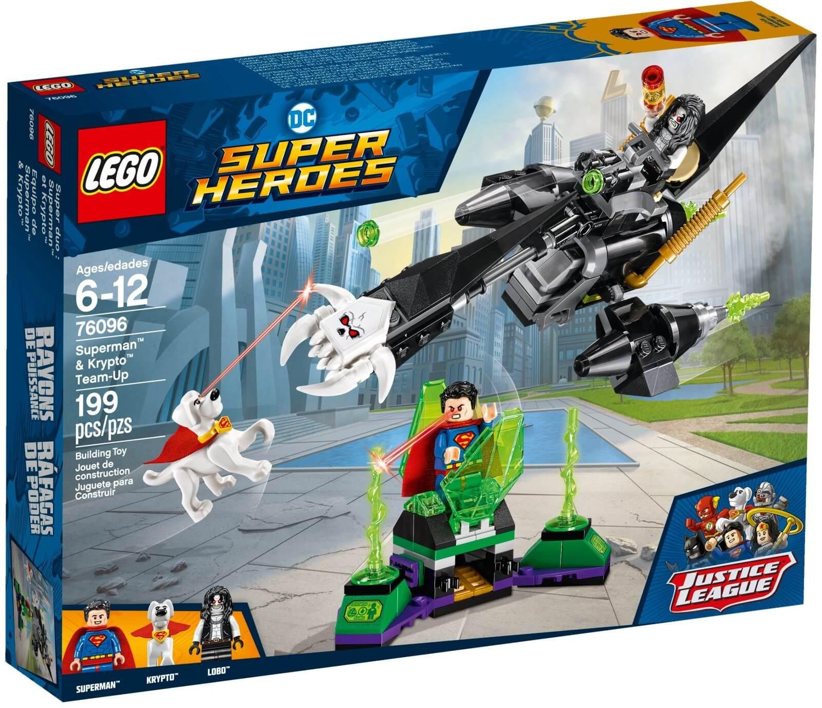 Mua đồ chơi LEGO 76096 - LEGO DC Comics Super Heroes 76096 - Superman và chú chó Krypto (LEGO DC Comics Super Heroes 76096 Superman & Krypto Team-Up)