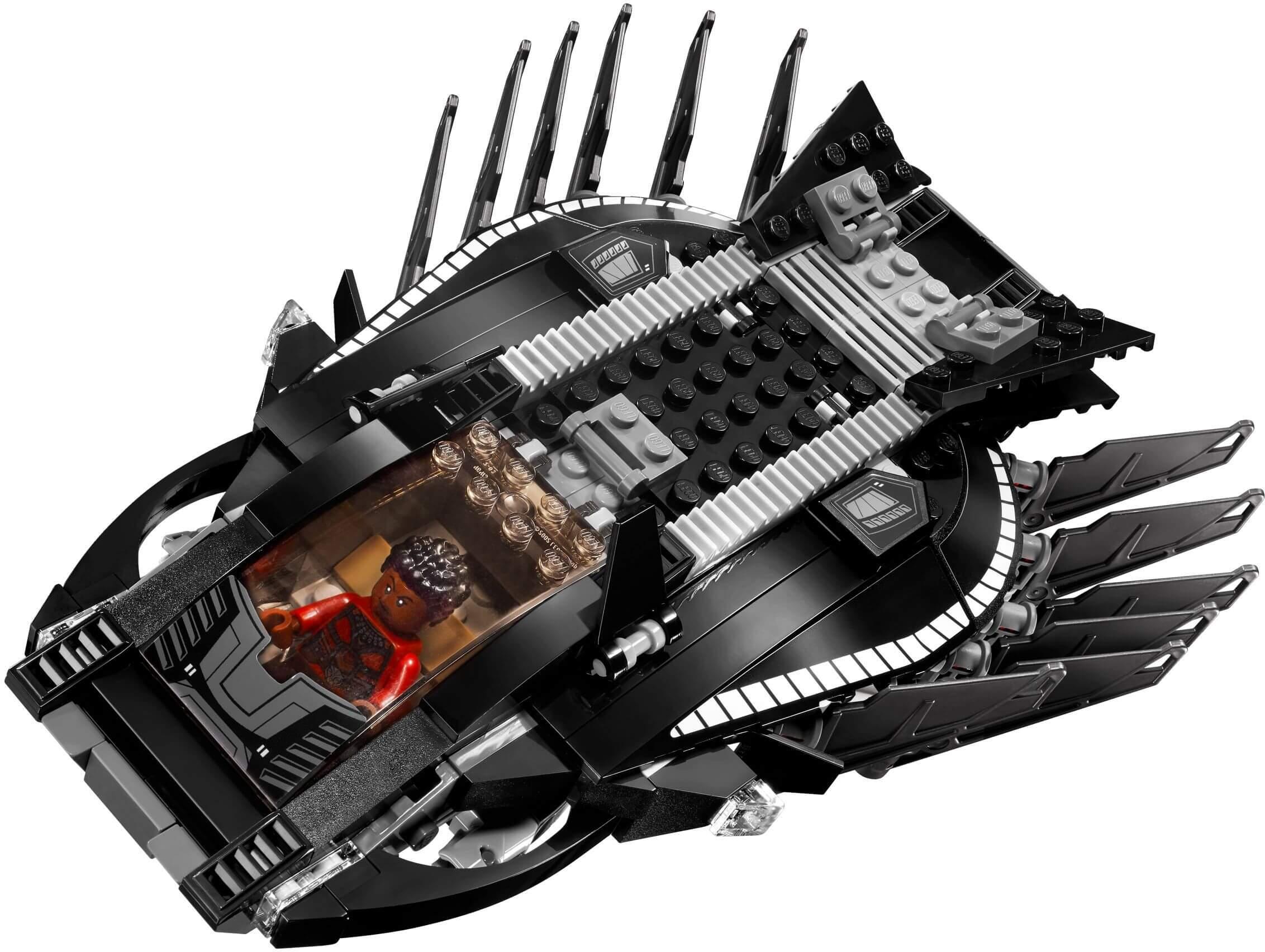 Mua đồ chơi LEGO 76100 - LEGO Marvel Super Heroes 76100 - Phi Thuyền Báo Đen (LEGO Marvel Super Heroes 76100 Royal Talon Fighter Attack)