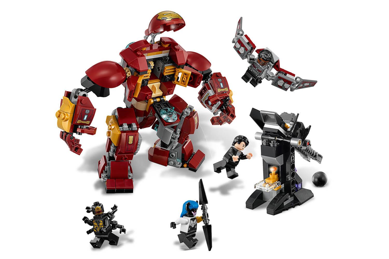 Mua đồ chơi LEGO 76104 - LEGO Marvel Super Heroes 76104 - Bộ Giáp Hulkbuster Siêu Cấp (LEGO Marvel Super Heroes 76104 The Hulkbuster Smash-Up)