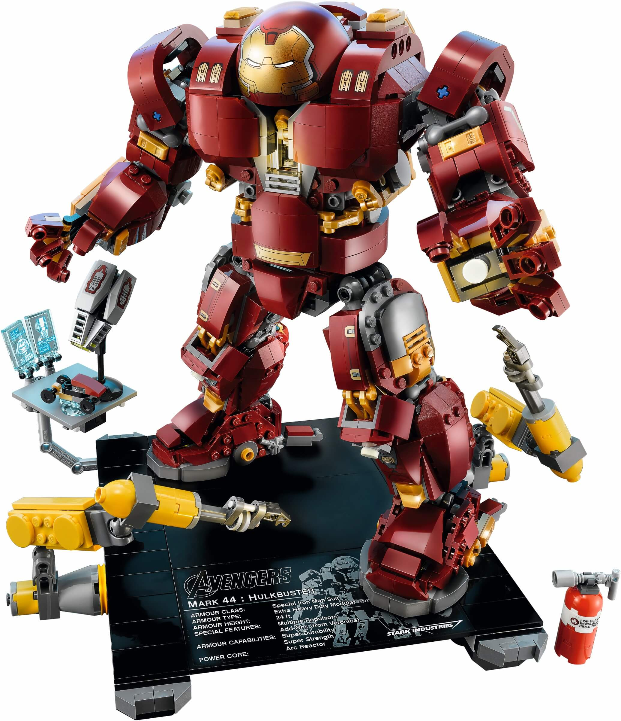 Mua đồ chơi LEGO 76105 - LEGO Marvel Super Heroes 76105 - Bộ Giáp Hulkbuster: Phiên bản Ultron (LEGO Marvel Super Heroes 76105 The Hulkbuster: Ultron Edition)