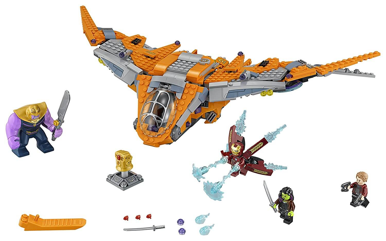 Mua đồ chơi LEGO 76107 - LEGO Marvel Super Heroes 76107 - Thanos đại chiến Iron Man (LEGO Marvel Super Heroes 76107 Thanos: Ultimate Battle)