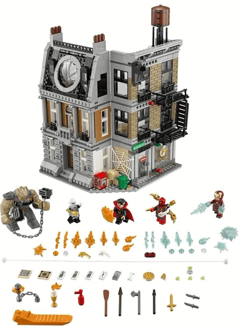Mua đồ chơi LEGO 76108 - LEGO Marvel Super Heroes 76108 - Đại Chiến tại Sanctum Sanctorum của Doctor Strange (LEGO Marvel Super Heroes 76108 Sanctum Sanctorum Showdown)
