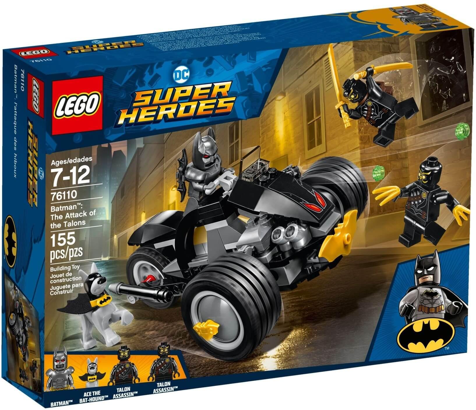Mua đồ chơi LEGO 76110 - LEGO Super Heroes 76110 - Xe Mô Tô của Batman đại chiến Talon (LEGO 76110 Batman: The Attack of the Talons)
