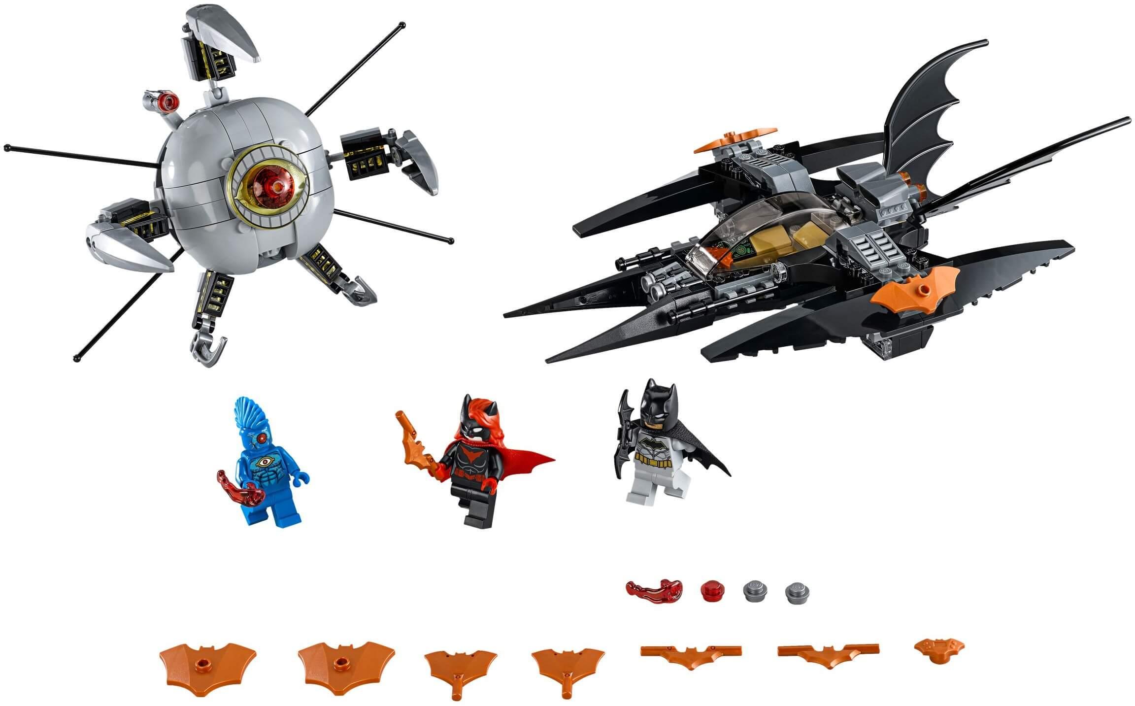 Mua đồ chơi LEGO 76111 - LEGO Super Heroes 76111 - Batman và Batwoman đại chiến Người Máy OMAC (LEGO 76111 Batman: Brother Eye Takedown)