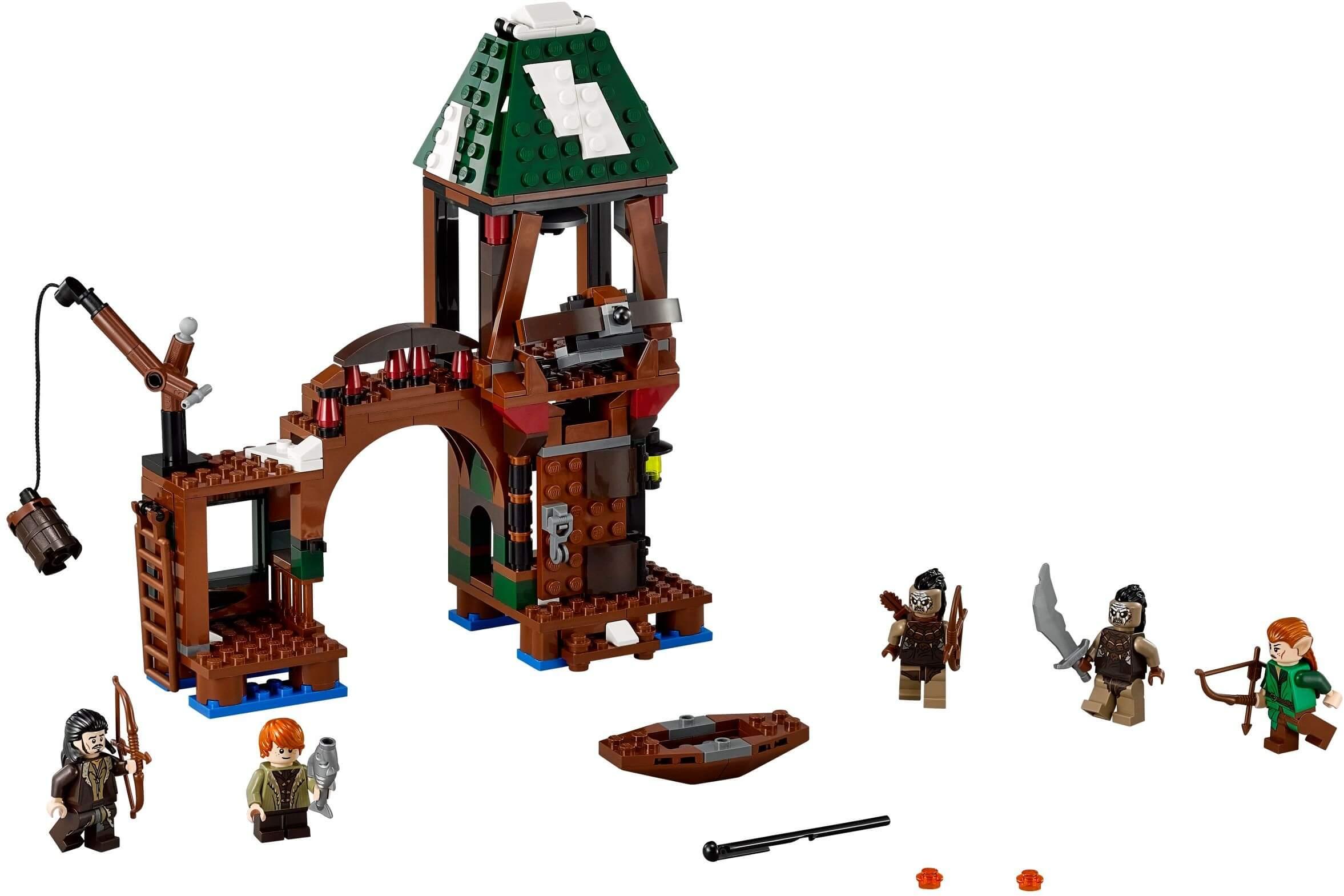 Mua đồ chơi LEGO 79016 - LEGO Hobbit 79016 - Cuộc chiến bảo vệ Lake-town (LEGO The Hobbit Attack on Lake-town 79016)
