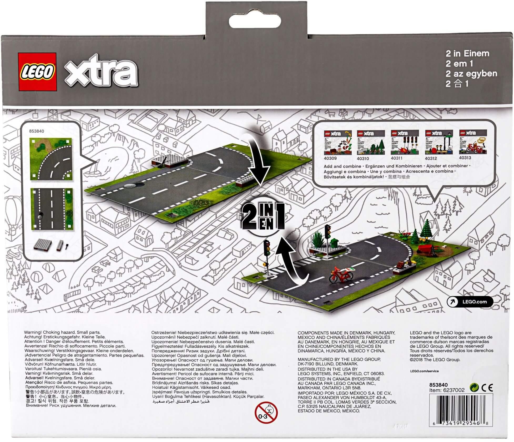 Mua đồ chơi LEGO 853840 - LEGO City 853840 - Thảm cao su Đường Xá (LEGO 853840 Road Playmat)