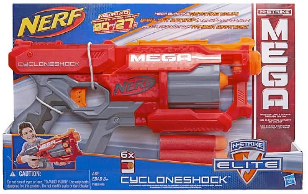 Mua đồ chơi Súng NERF A9249 - Súng NERF N-STRIKE ELITE MEGA CYCLONESHOCK BLASTER