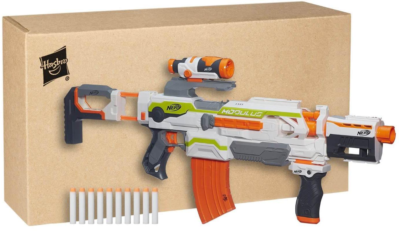 Mua đồ chơi Súng NERF B1538 - Súng NERF N-STRIKE MODULUS ECS-10 BLASTER