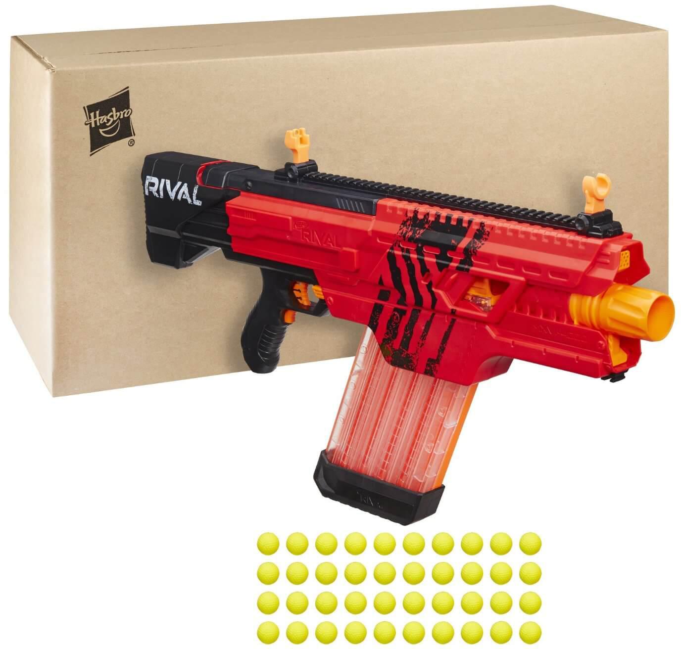 Mua đồ chơi Súng NERF B3859 - Súng NERF RIVAL KHAOS MXVI-4000 BLASTER - RED (ĐỎ)