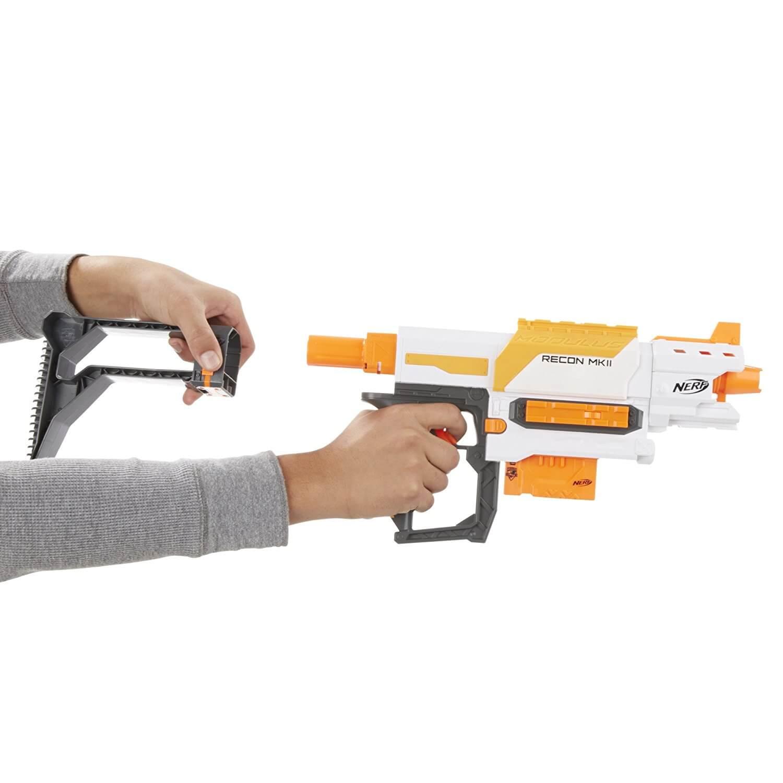 Mua đồ chơi súng NERF B6096F07 - (mã: B6096F07) Báng súng NERF RECON MKII (dòng Modulus N-Strike)