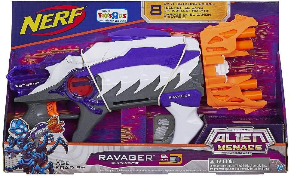 Mua đồ chơi Súng NERF B7406 - Súng NERF Alien Menace Ravager Blaster