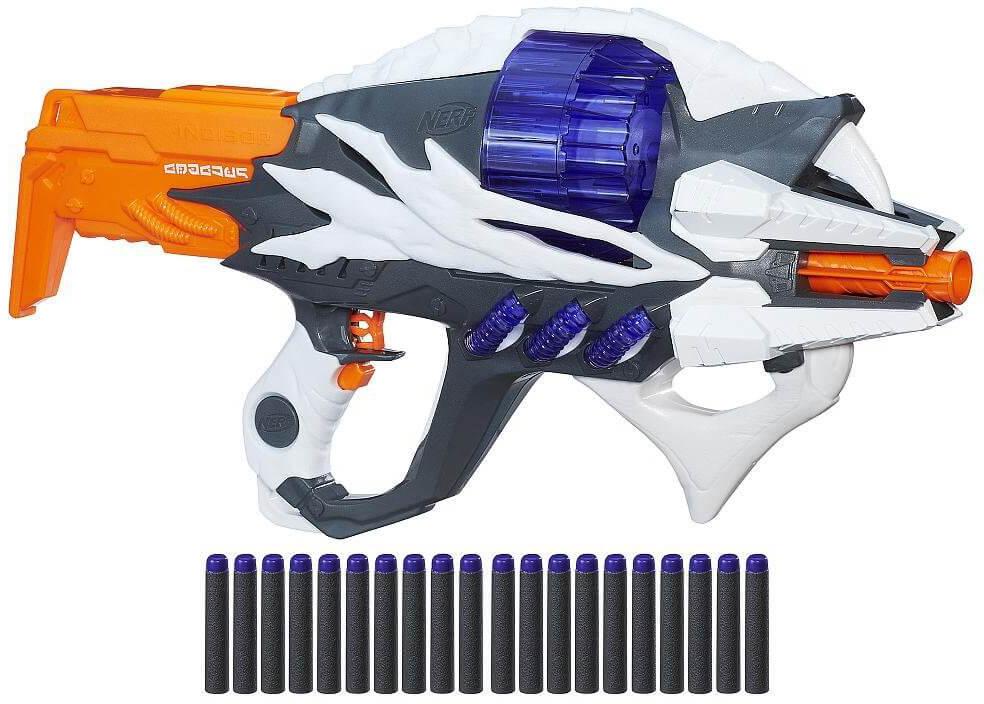 Mua đồ chơi Súng NERF B7407 - Súng NERF Alien Menace Incisor Blaster