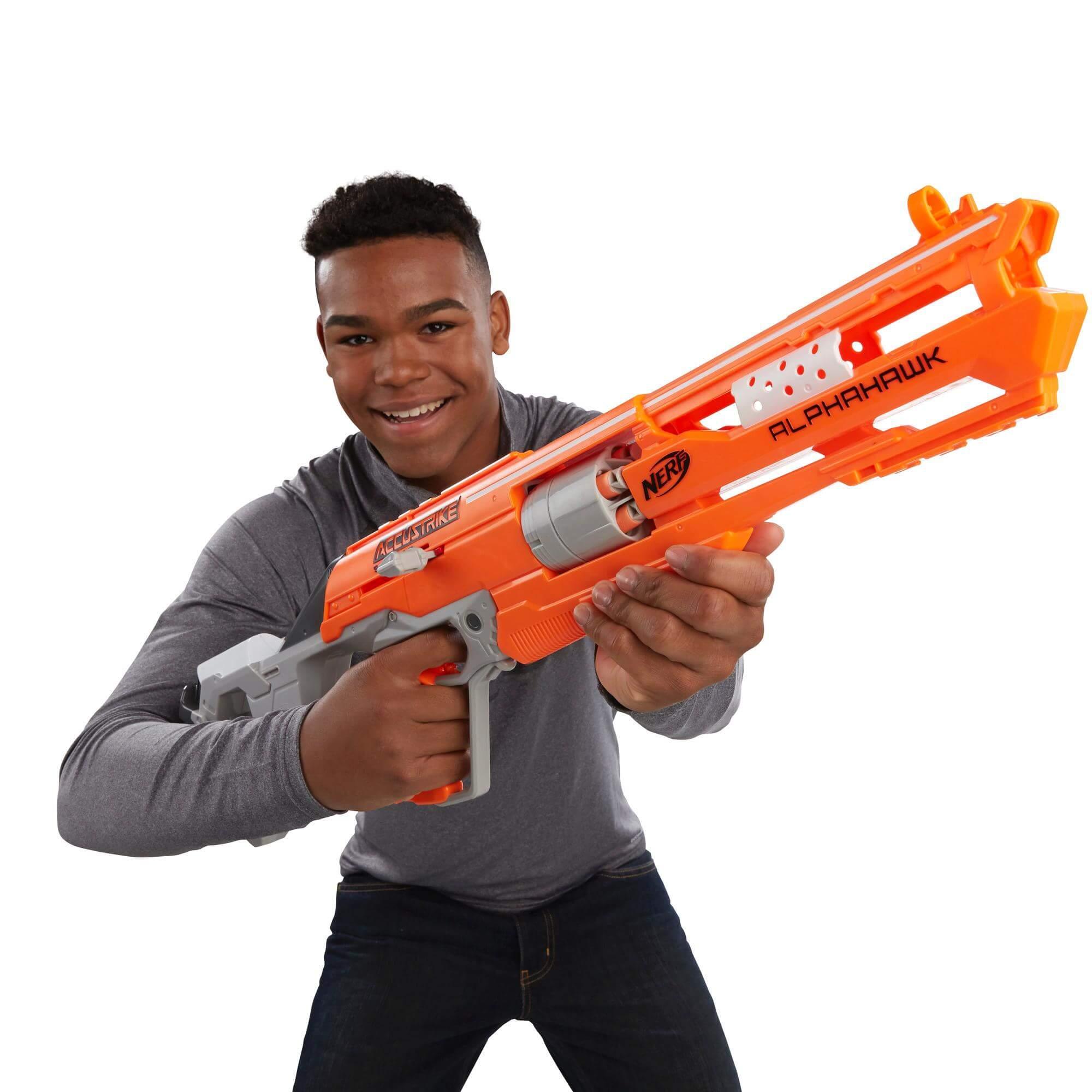 Mua đồ chơi súng NERF B7784 - (mã: B7784) Súng NERF ACCUSTRIKE ALPHAHAWK (dòng N-Strike Elite)