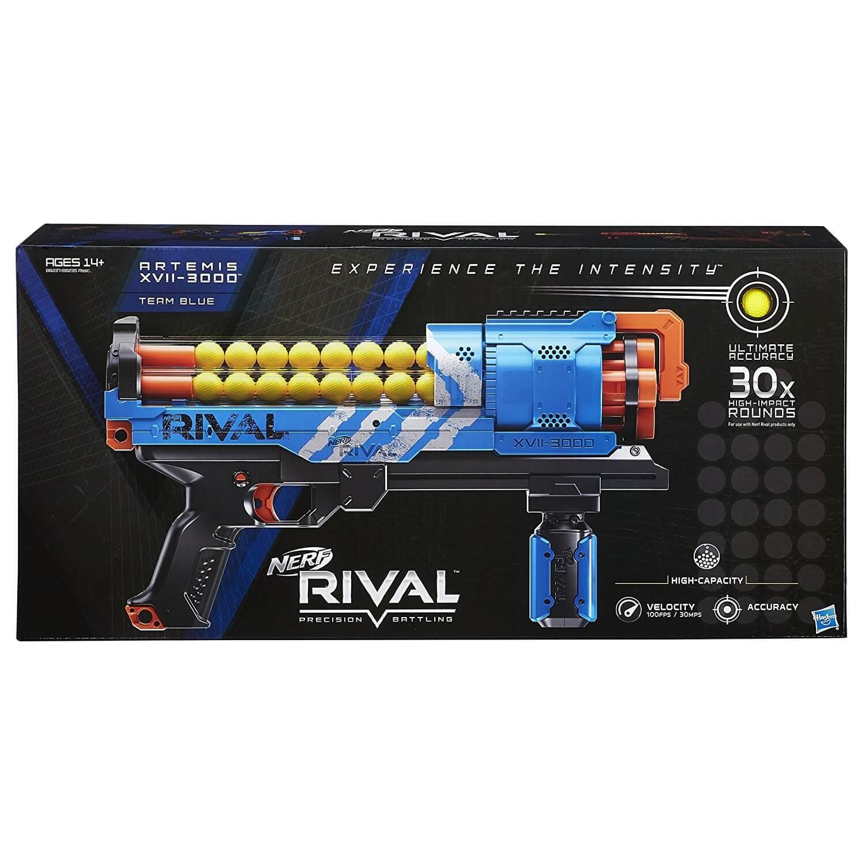 Mua đồ chơi súng NERF B8237 - (mã: B8237) Súng NERF Rival Artemis XVII 3000 Blue Xanh