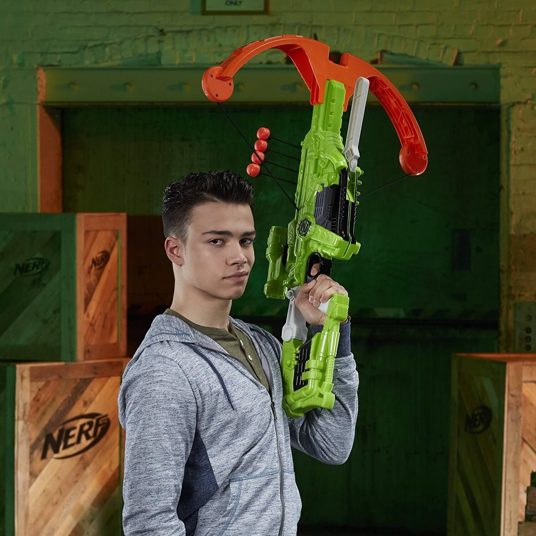 Mua đồ chơi súng NERF B9091 - (mã: B9091) Súng Nỏ NERF Zombie DREADBOLT (dòng Zombie Strike)