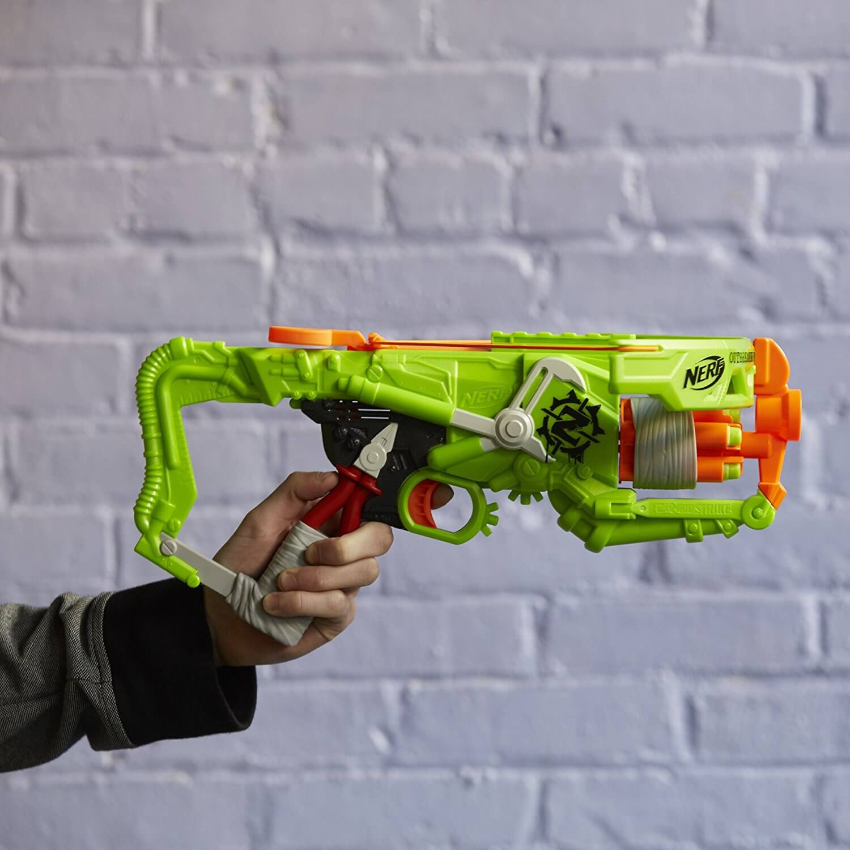 Mua đồ chơi súng NERF B9093 - (mã: B9093) Nỏ NERF Zombie OUTBREAKER BOW (dòng Zombie Strike)